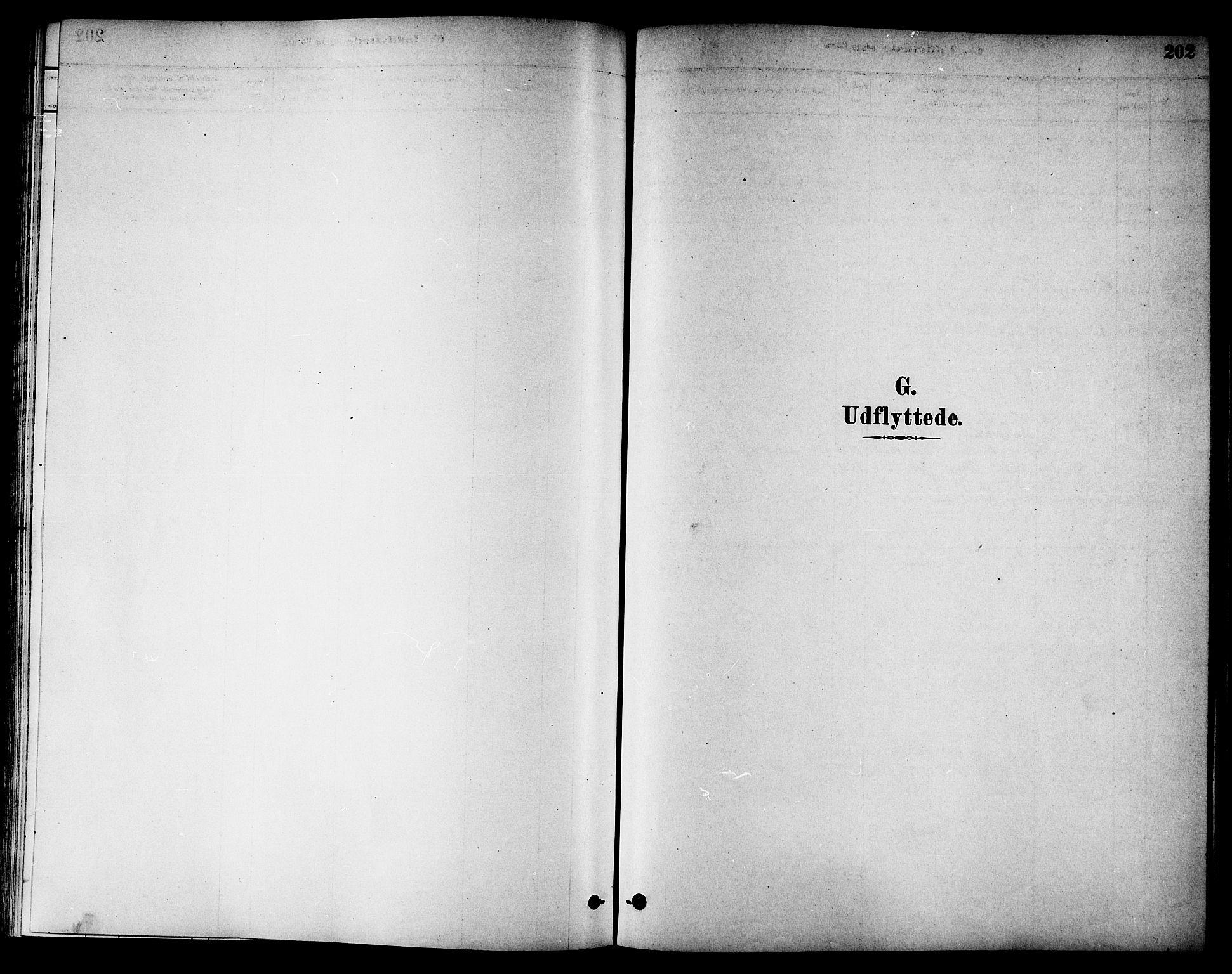 SAT, Ministerialprotokoller, klokkerbøker og fødselsregistre - Nord-Trøndelag, 784/L0672: Ministerialbok nr. 784A07, 1880-1887, s. 202
