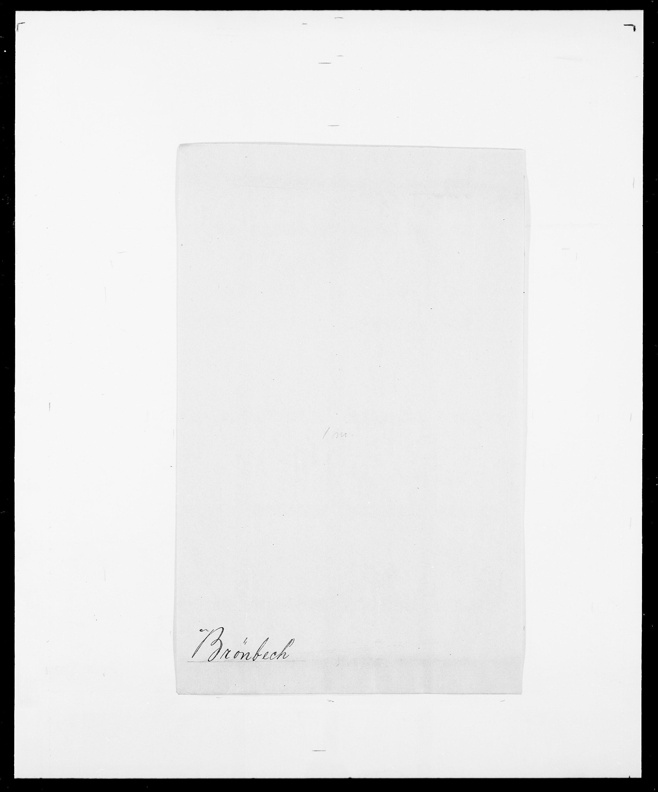 SAO, Delgobe, Charles Antoine - samling, D/Da/L0006: Brambani - Brønø, s. 960