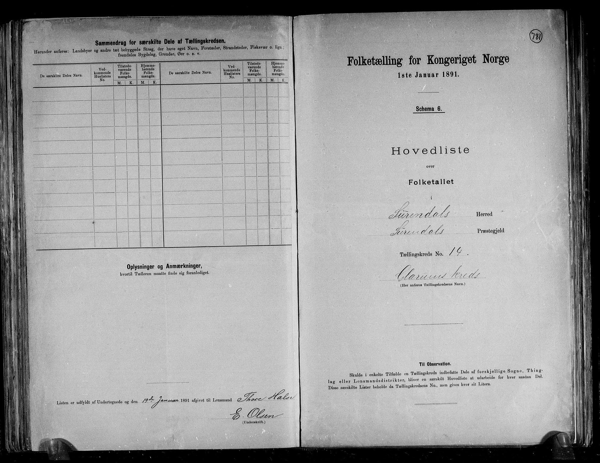 RA, Folketelling 1891 for 1566 Surnadal herred, 1891, s. 35