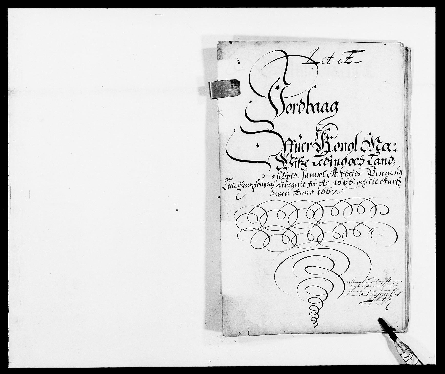 RA, Rentekammeret inntil 1814, Reviderte regnskaper, Fogderegnskap, R35/L2057: Fogderegnskap Øvre og Nedre Telemark, 1666-1667, s. 213