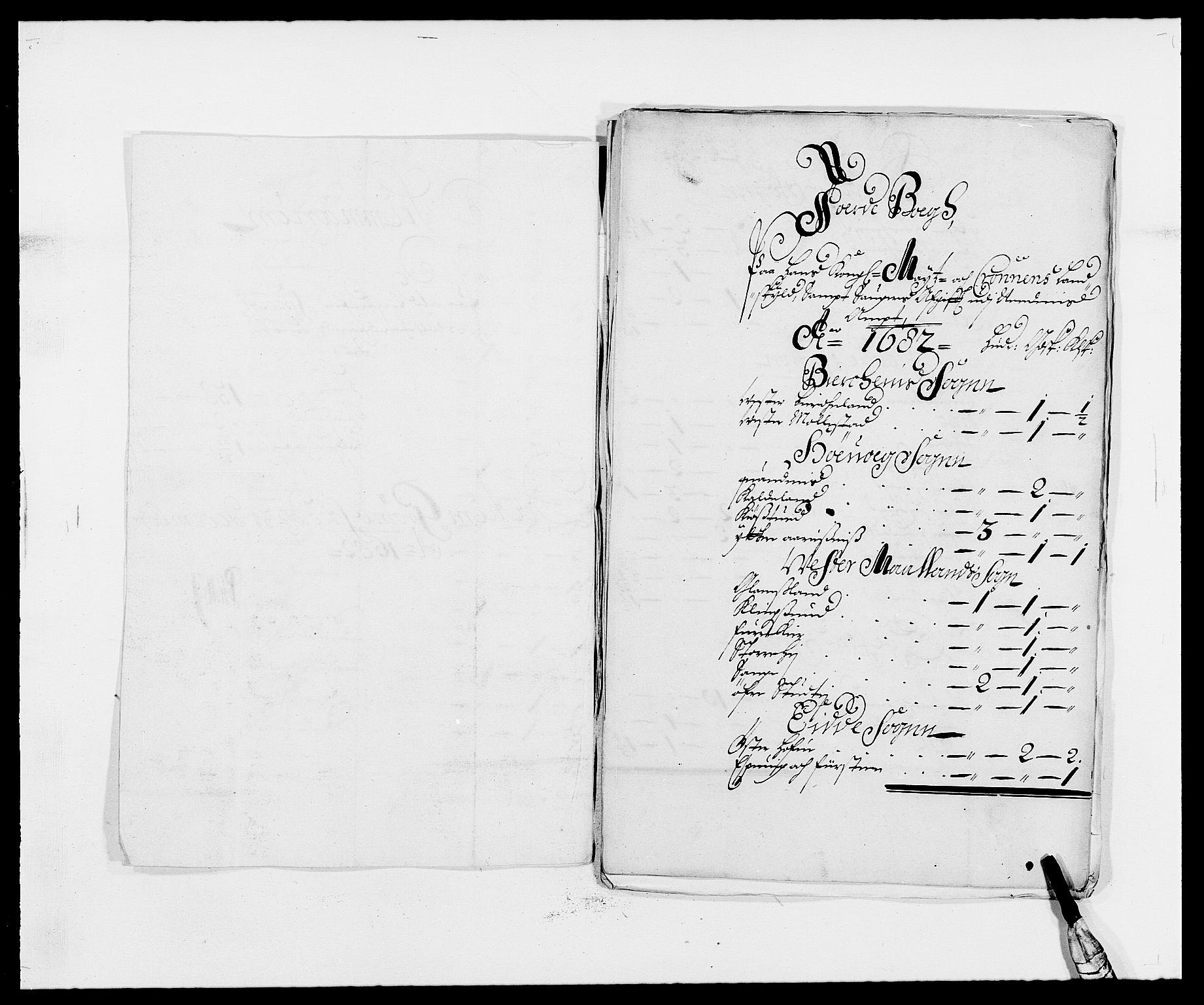 RA, Rentekammeret inntil 1814, Reviderte regnskaper, Fogderegnskap, R39/L2304: Fogderegnskap Nedenes, 1680-1682, s. 401