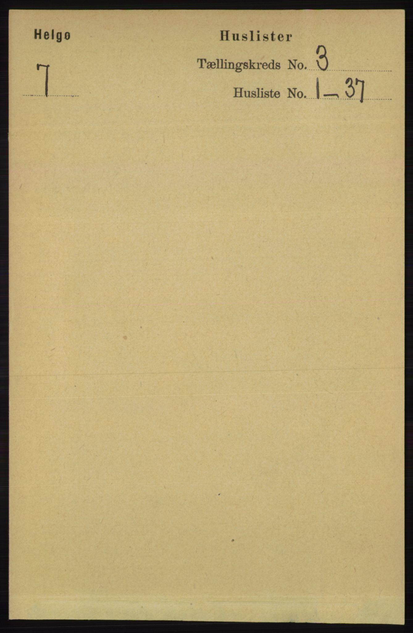 RA, Folketelling 1891 for 1935 Helgøy herred, 1891, s. 700