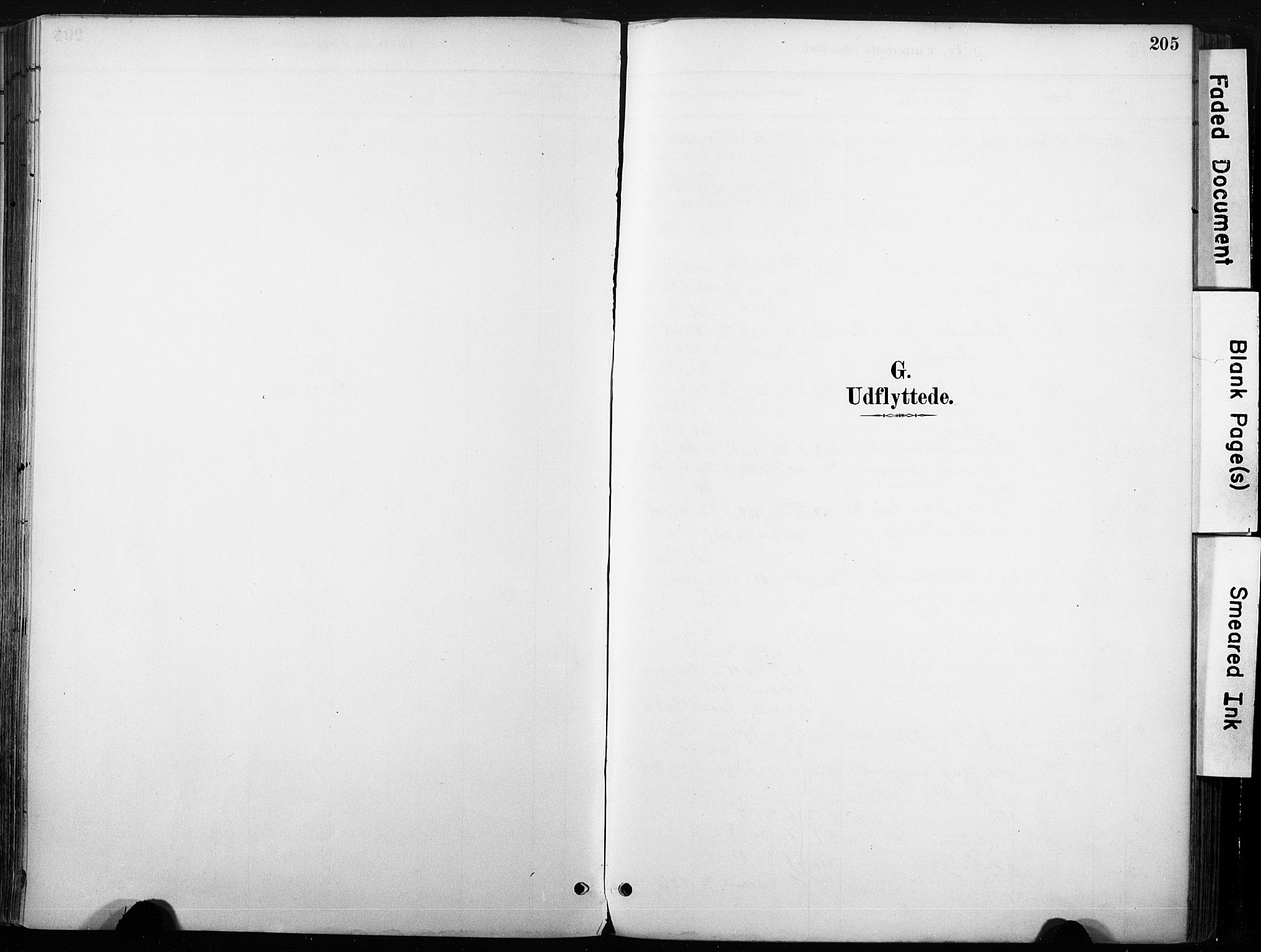 SAKO, Nore kirkebøker, F/Fb/L0002: Ministerialbok nr. II 2, 1886-1906, s. 205