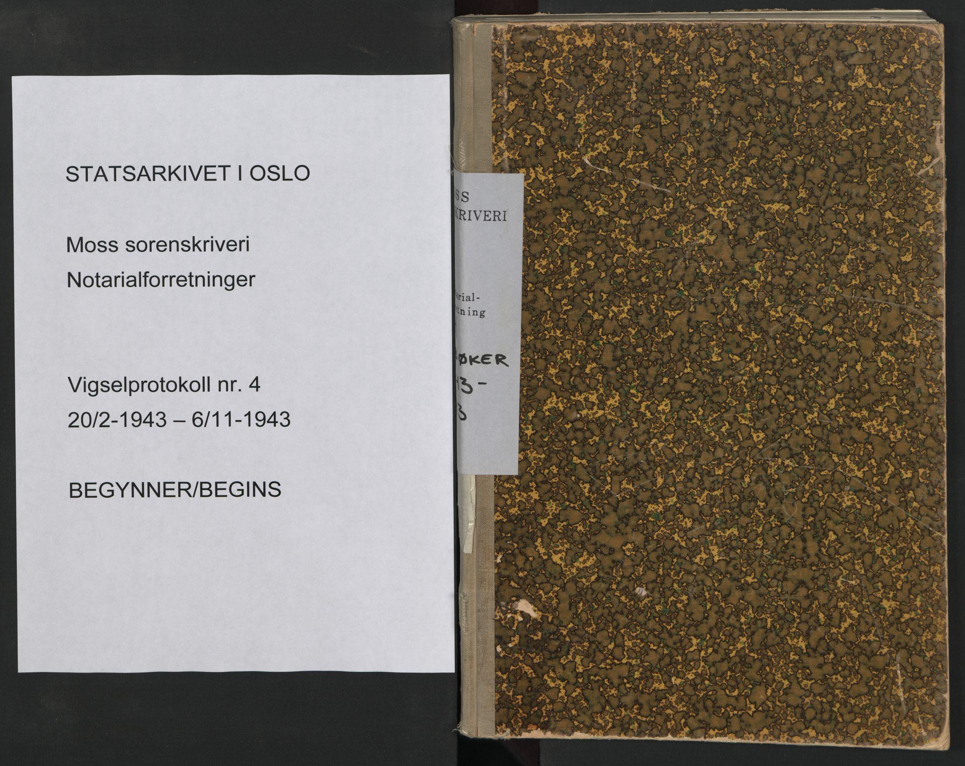 SAO, Moss sorenskriveri, 1943, s. upaginert