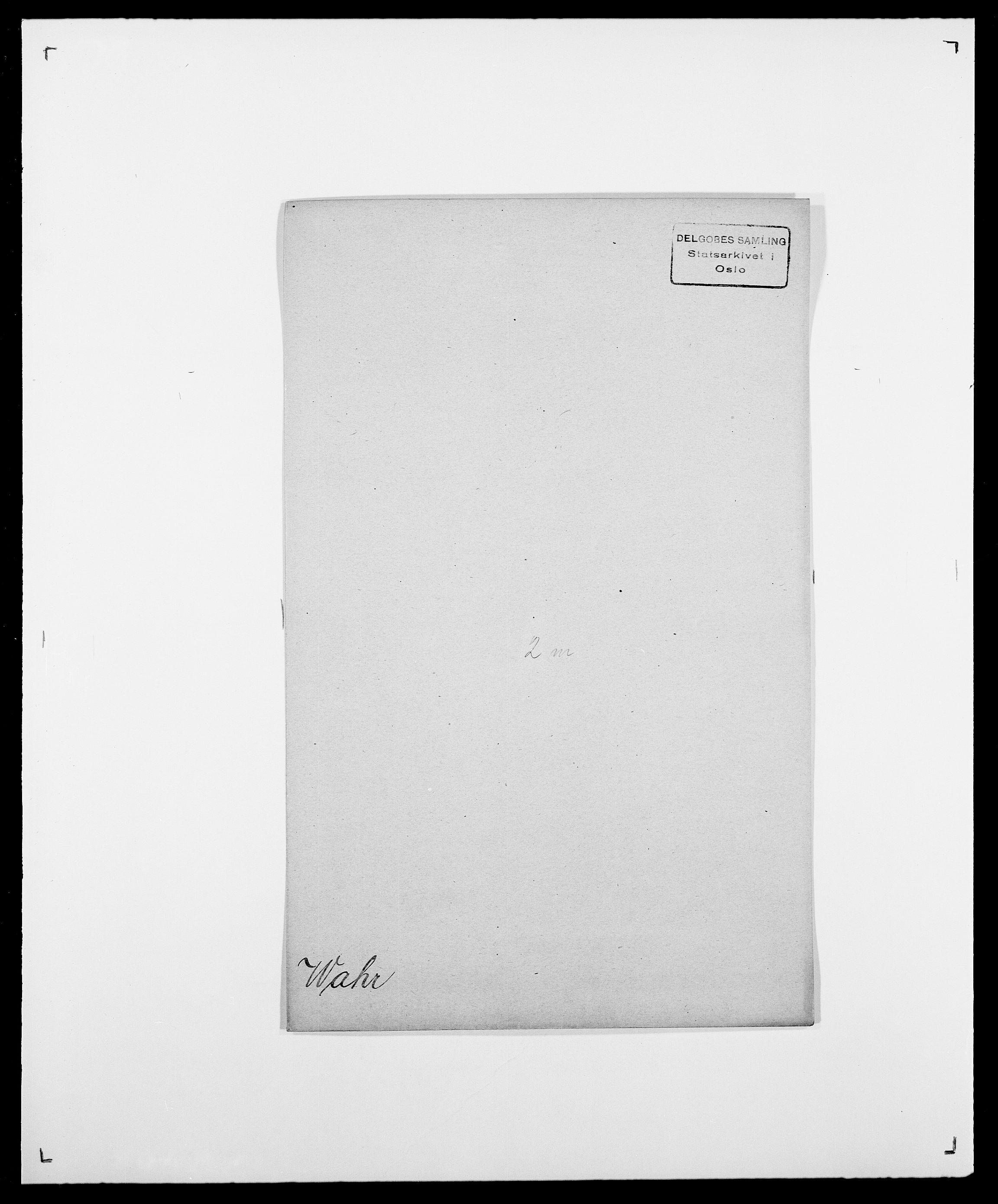SAO, Delgobe, Charles Antoine - samling, D/Da/L0040: Usgaard - Velund, s. 120