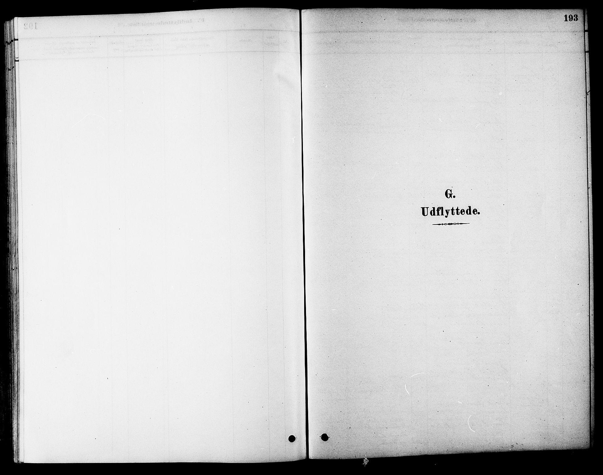 SAT, Ministerialprotokoller, klokkerbøker og fødselsregistre - Sør-Trøndelag, 686/L0983: Ministerialbok nr. 686A01, 1879-1890, s. 193