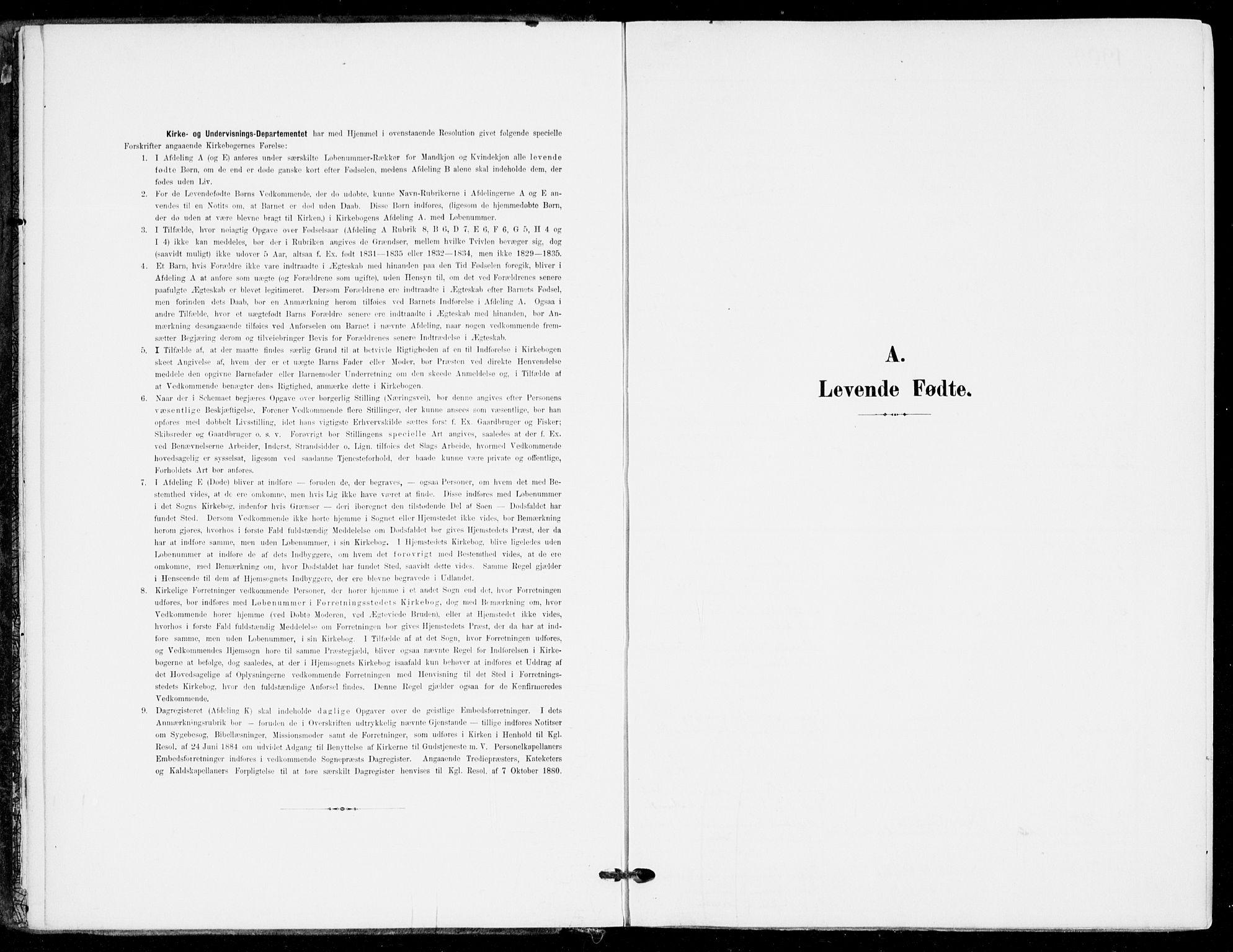 SAKO, Sande Kirkebøker, F/Fa/L0008: Ministerialbok nr. 8, 1904-1921