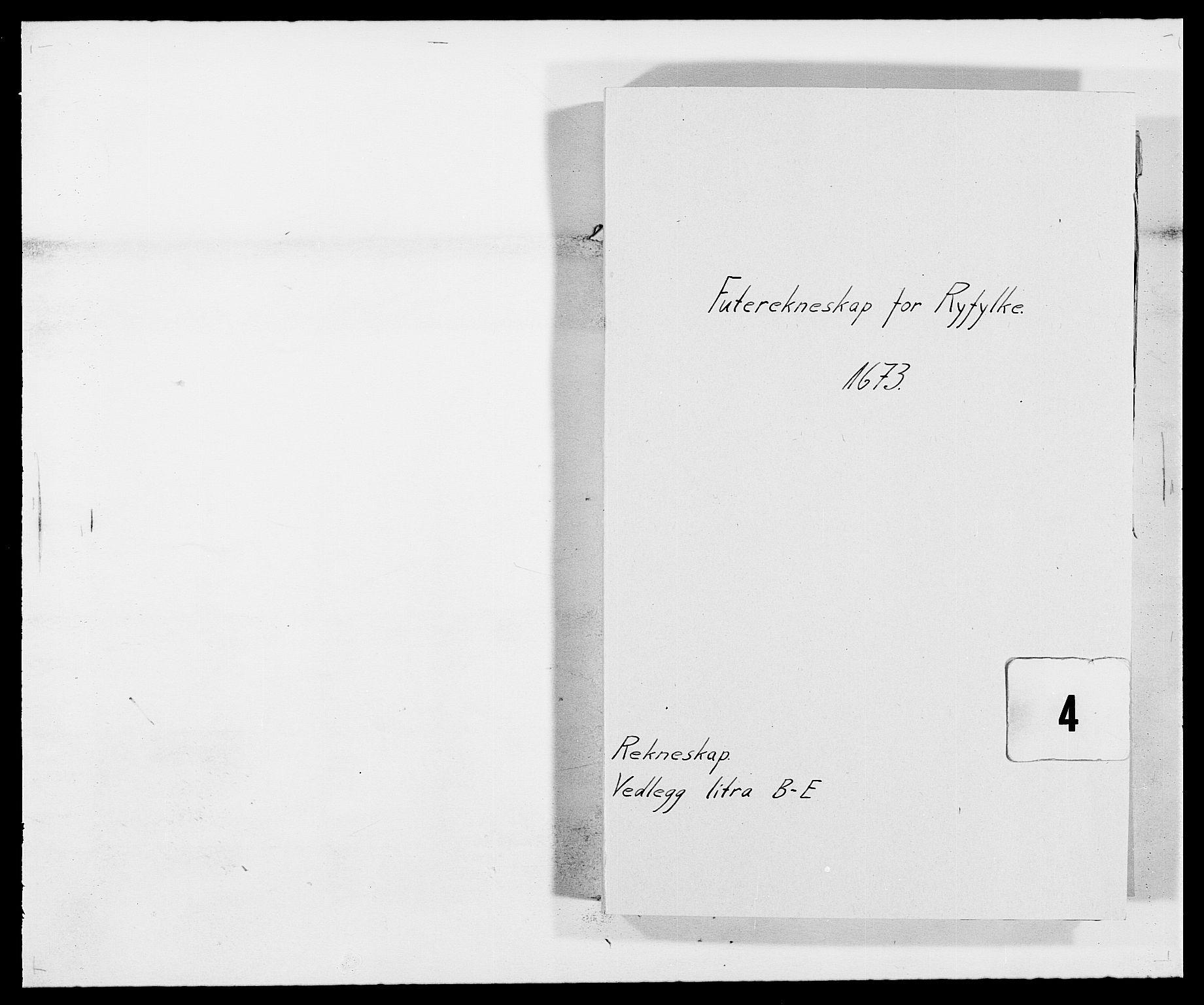 RA, Rentekammeret inntil 1814, Reviderte regnskaper, Fogderegnskap, R47/L2844: Fogderegnskap Ryfylke, 1672-1673, s. 129