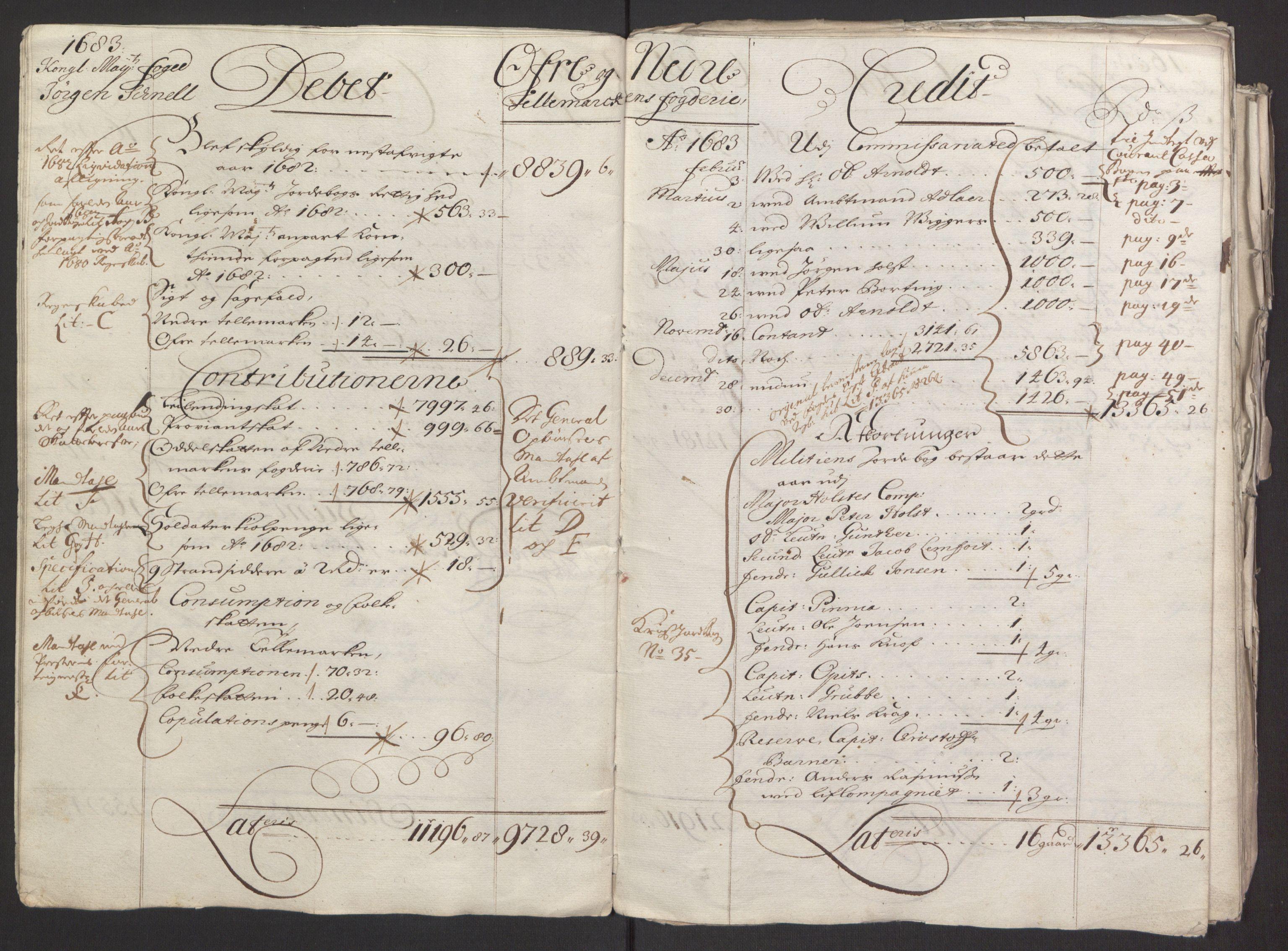RA, Rentekammeret inntil 1814, Reviderte regnskaper, Fogderegnskap, R35/L2075: Fogderegnskap Øvre og Nedre Telemark, 1680-1684, s. 14