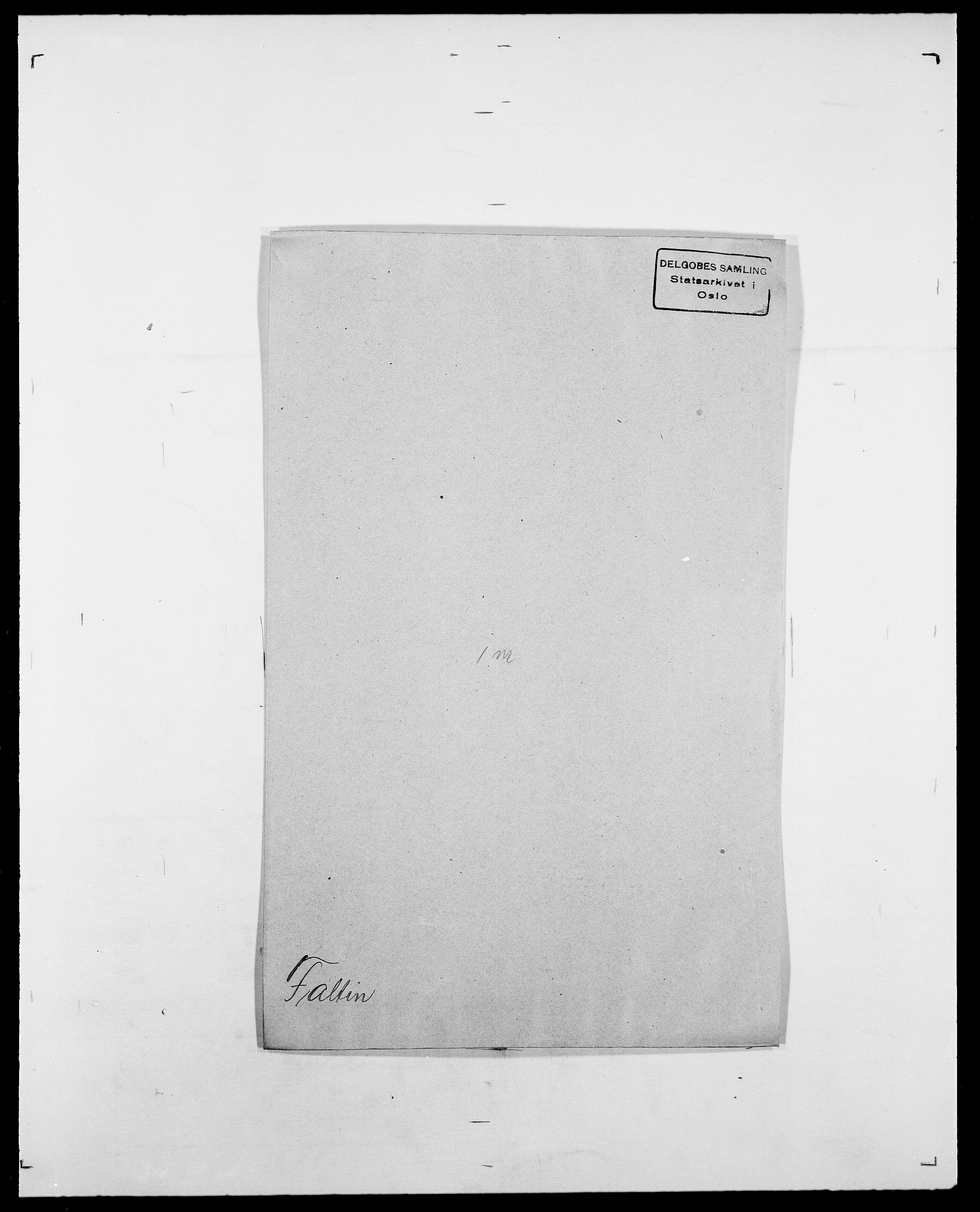 SAO, Delgobe, Charles Antoine - samling, D/Da/L0011: Fahlander - Flood, Flod, s. 165