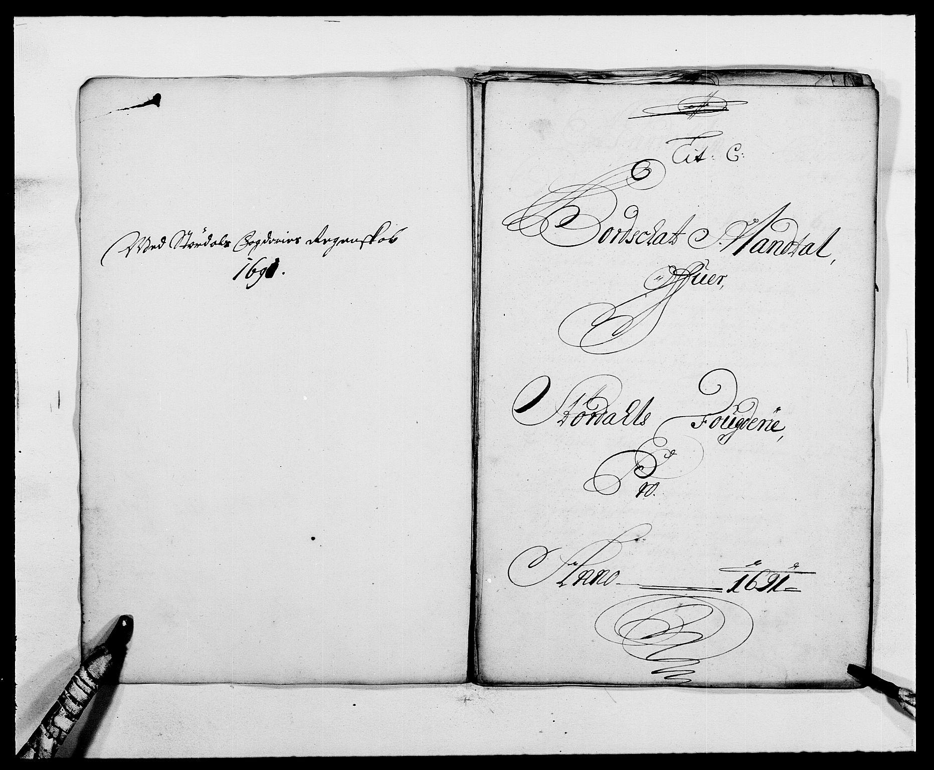 RA, Rentekammeret inntil 1814, Reviderte regnskaper, Fogderegnskap, R62/L4184: Fogderegnskap Stjørdal og Verdal, 1690-1691, s. 309