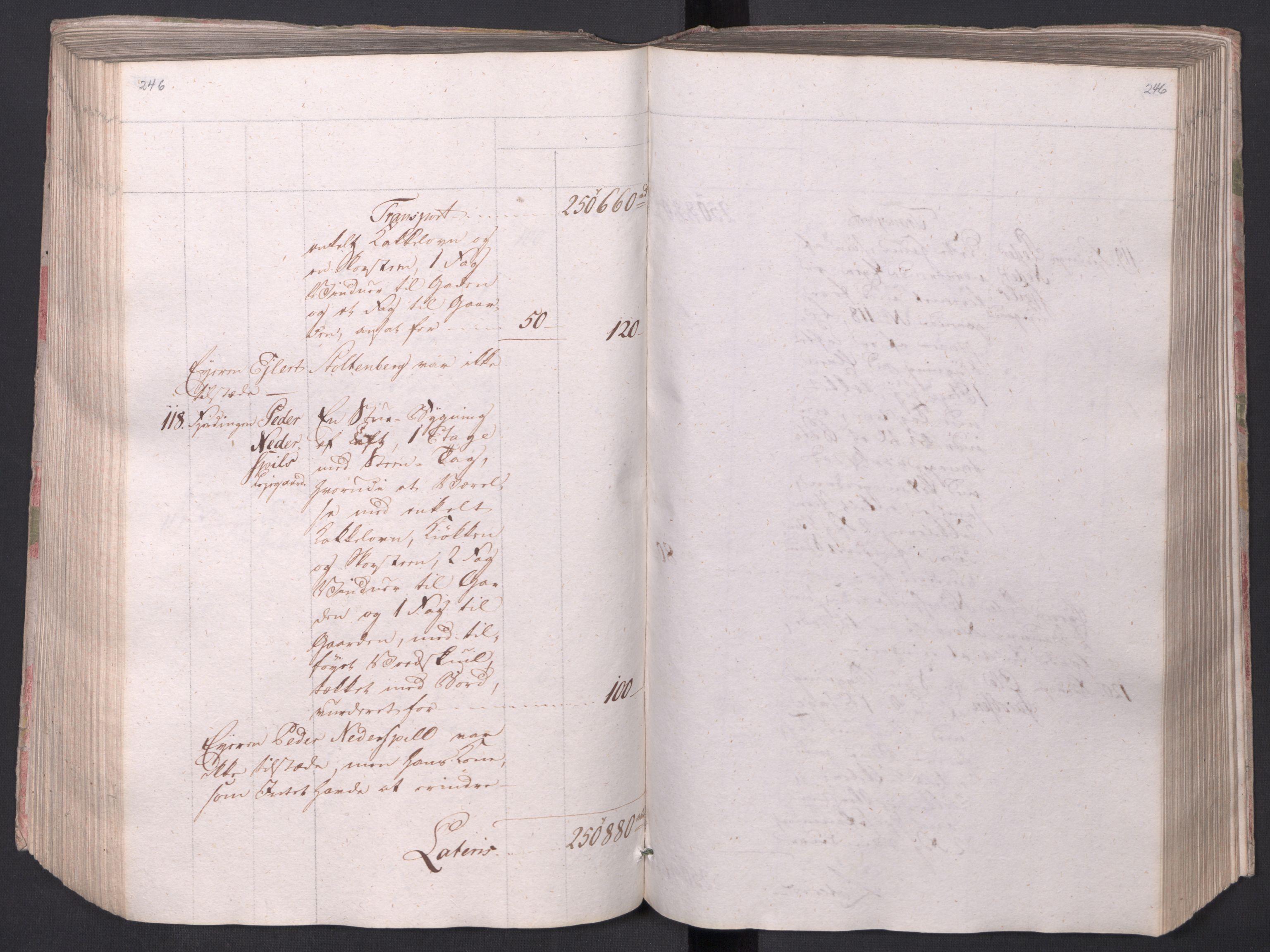 SAO, Kristiania stiftamt, I/Ia/L0015: Branntakster, 1797, s. 246