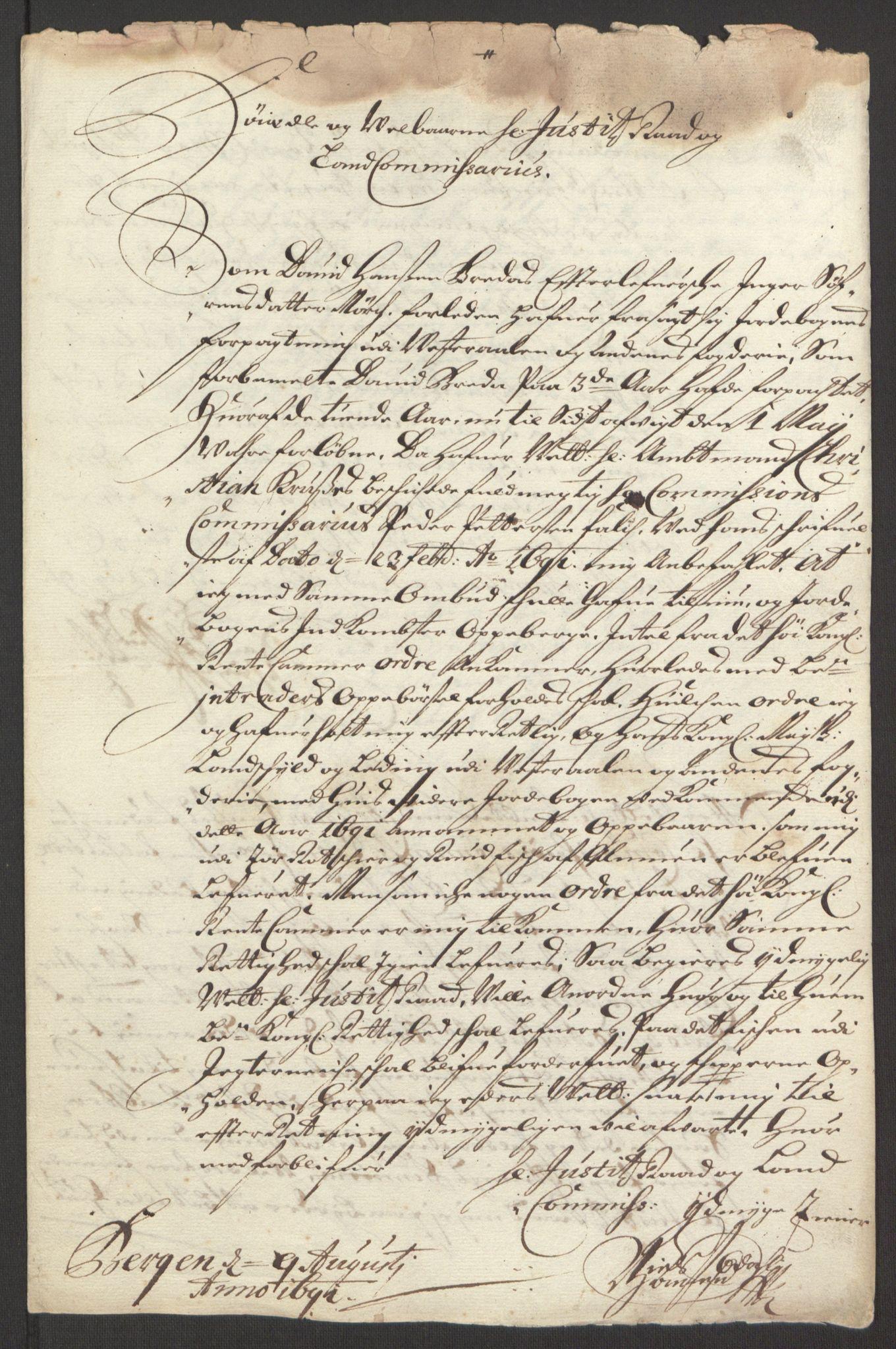 RA, Rentekammeret inntil 1814, Reviderte regnskaper, Fogderegnskap, R67/L4676: Fogderegnskap Vesterålen, Andenes og Lofoten, 1691-1693, s. 69