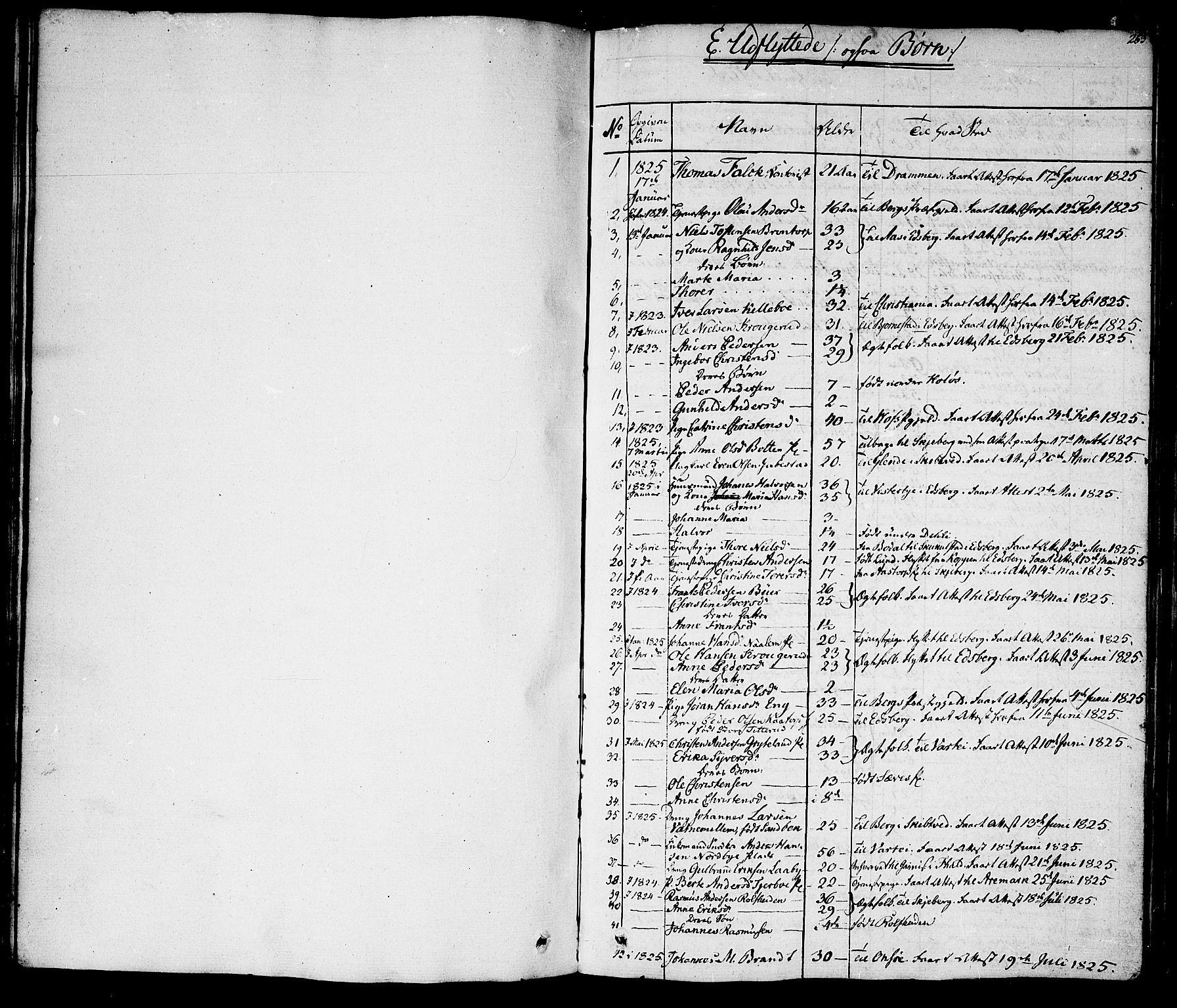 SAO, Rakkestad prestekontor Kirkebøker, F/Fa/L0007: Ministerialbok nr. I 7, 1825-1841, s. 263