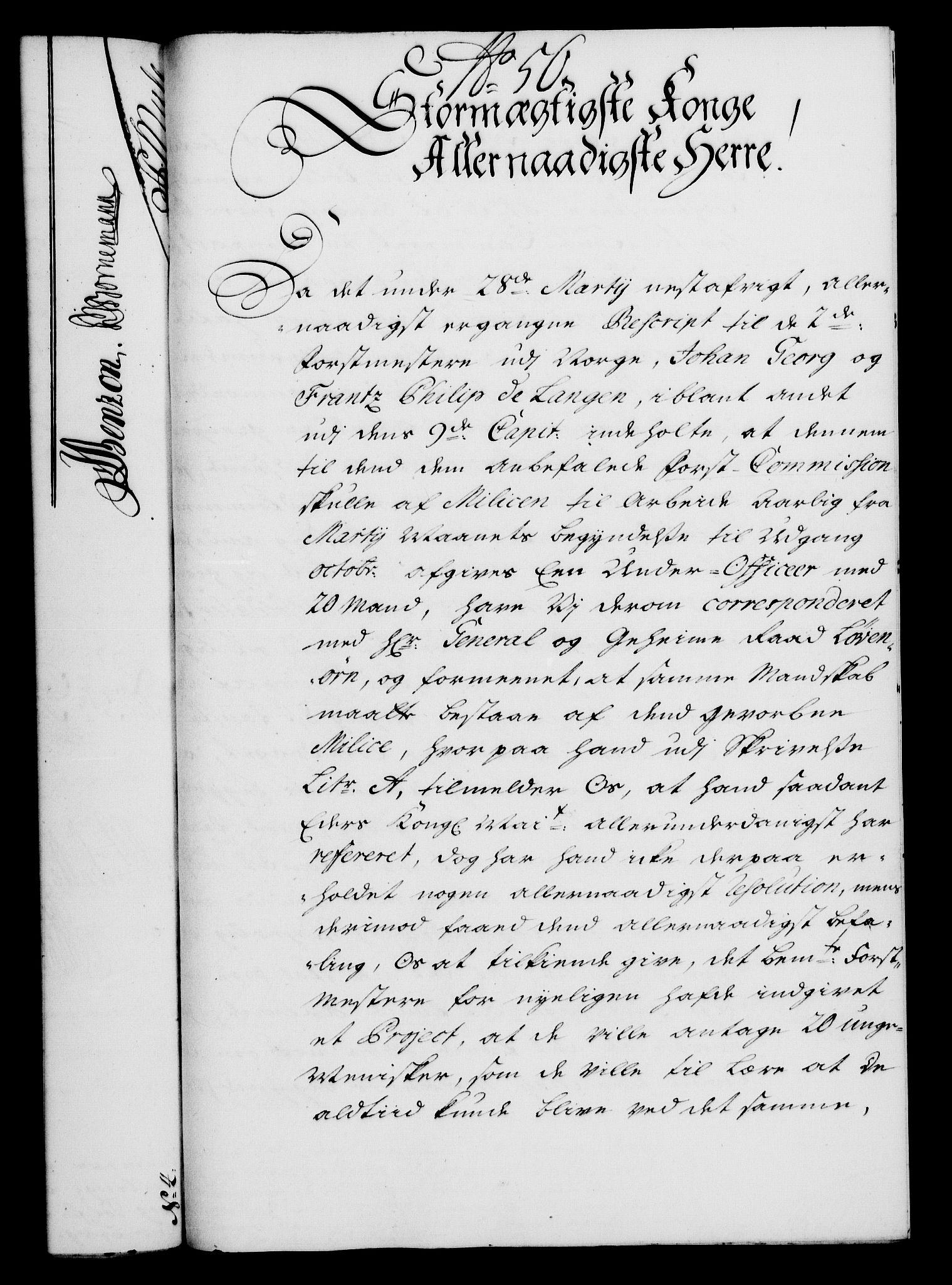 RA, Rentekammeret, Kammerkanselliet, G/Gf/Gfa/L0021: Norsk relasjons- og resolusjonsprotokoll (merket RK 52.21), 1738, s. 310
