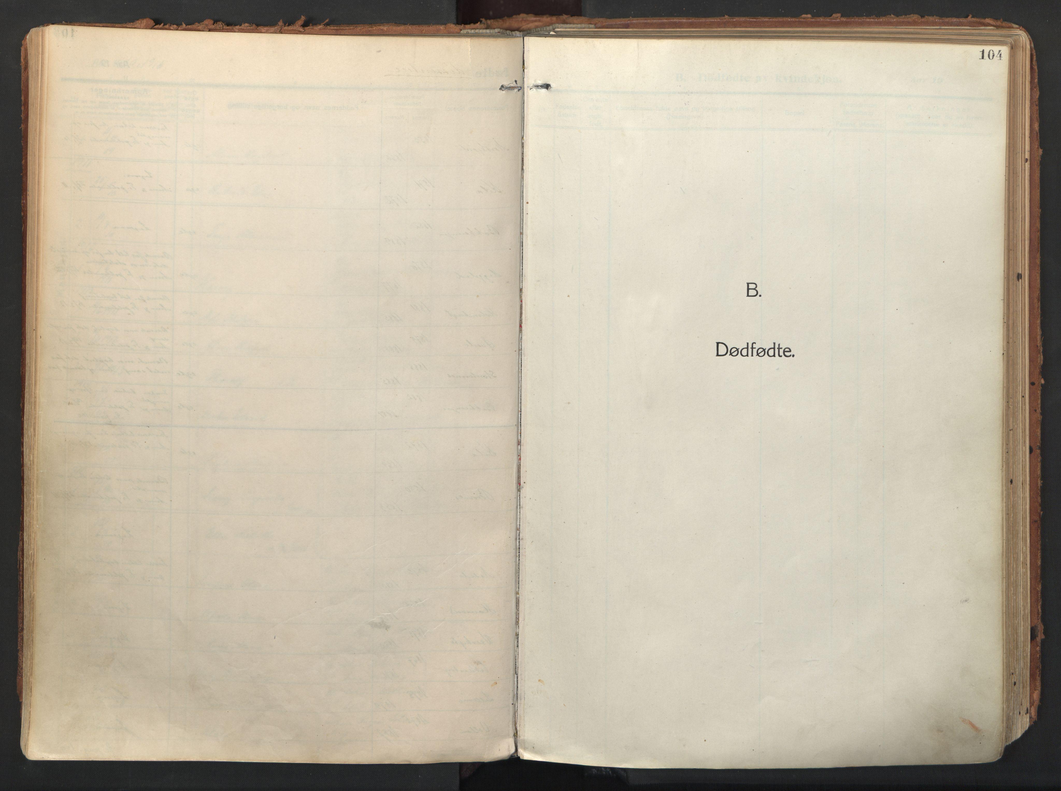 SATØ, Balsfjord sokneprestembete, Ministerialbok nr. 9, 1909-1921, s. 104