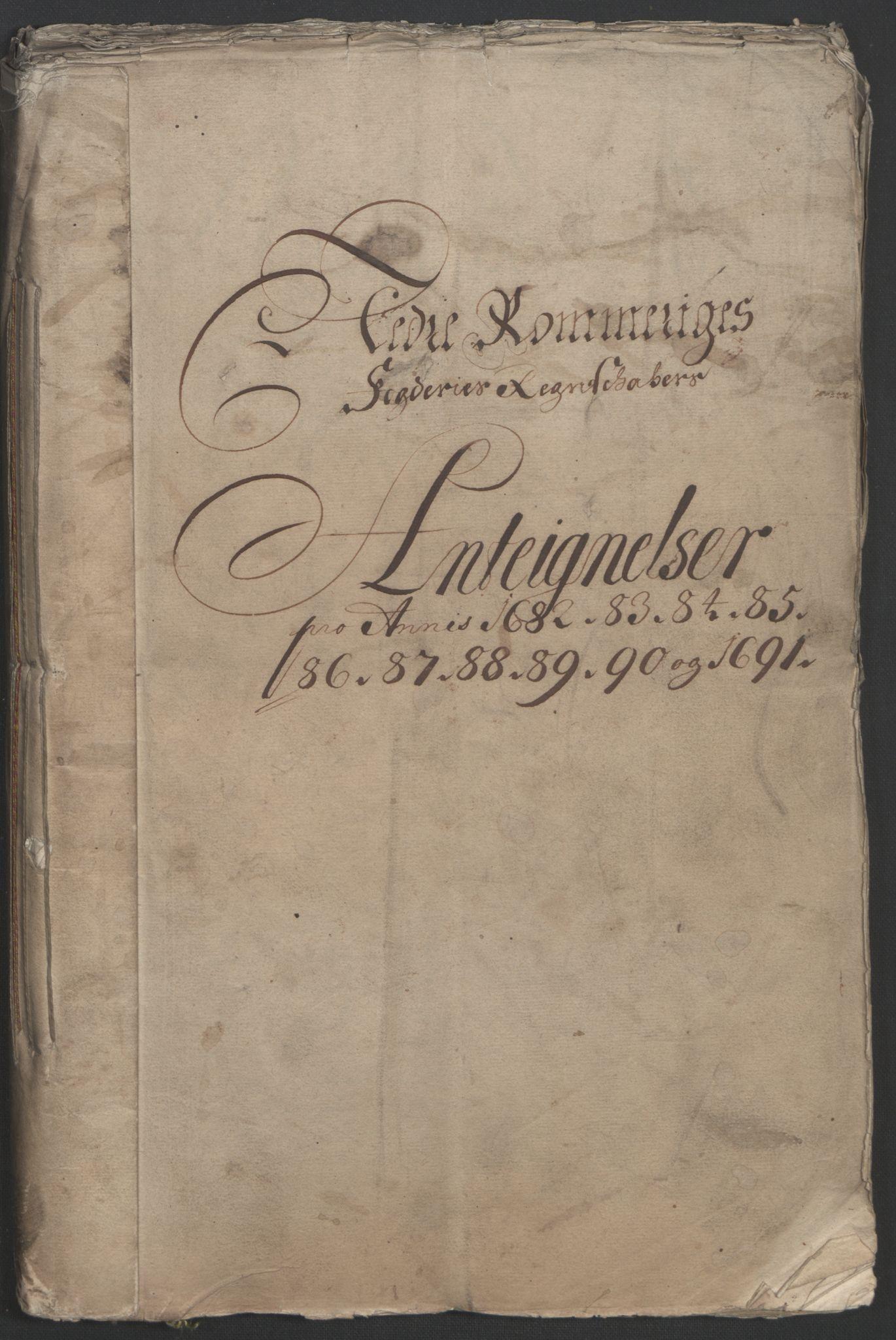 RA, Rentekammeret inntil 1814, Reviderte regnskaper, Fogderegnskap, R11/L0576: Fogderegnskap Nedre Romerike, 1682-1691, s. 58
