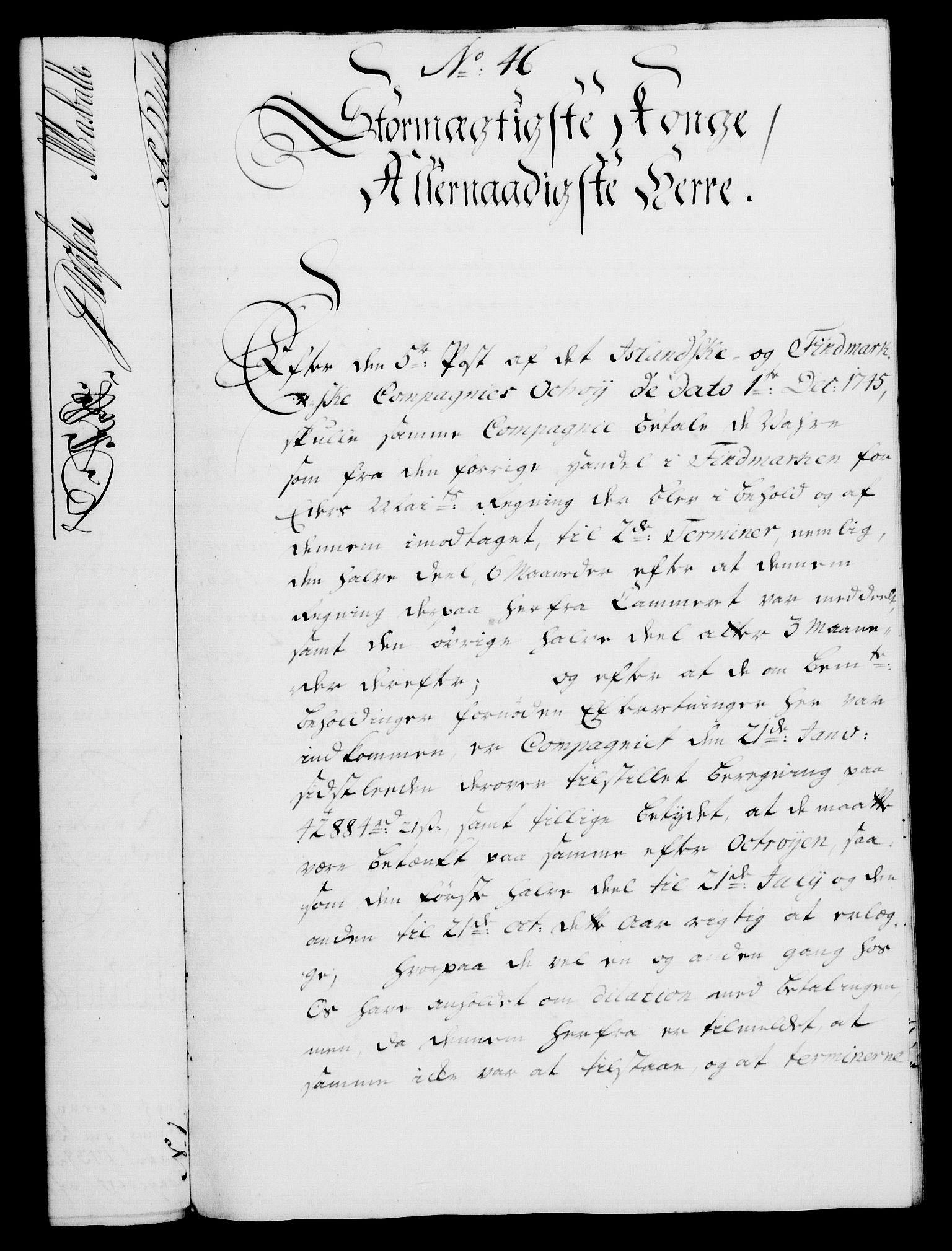 RA, Rentekammeret, Kammerkanselliet, G/Gf/Gfa/L0029: Norsk relasjons- og resolusjonsprotokoll (merket RK 52.29), 1746-1747, s. 432