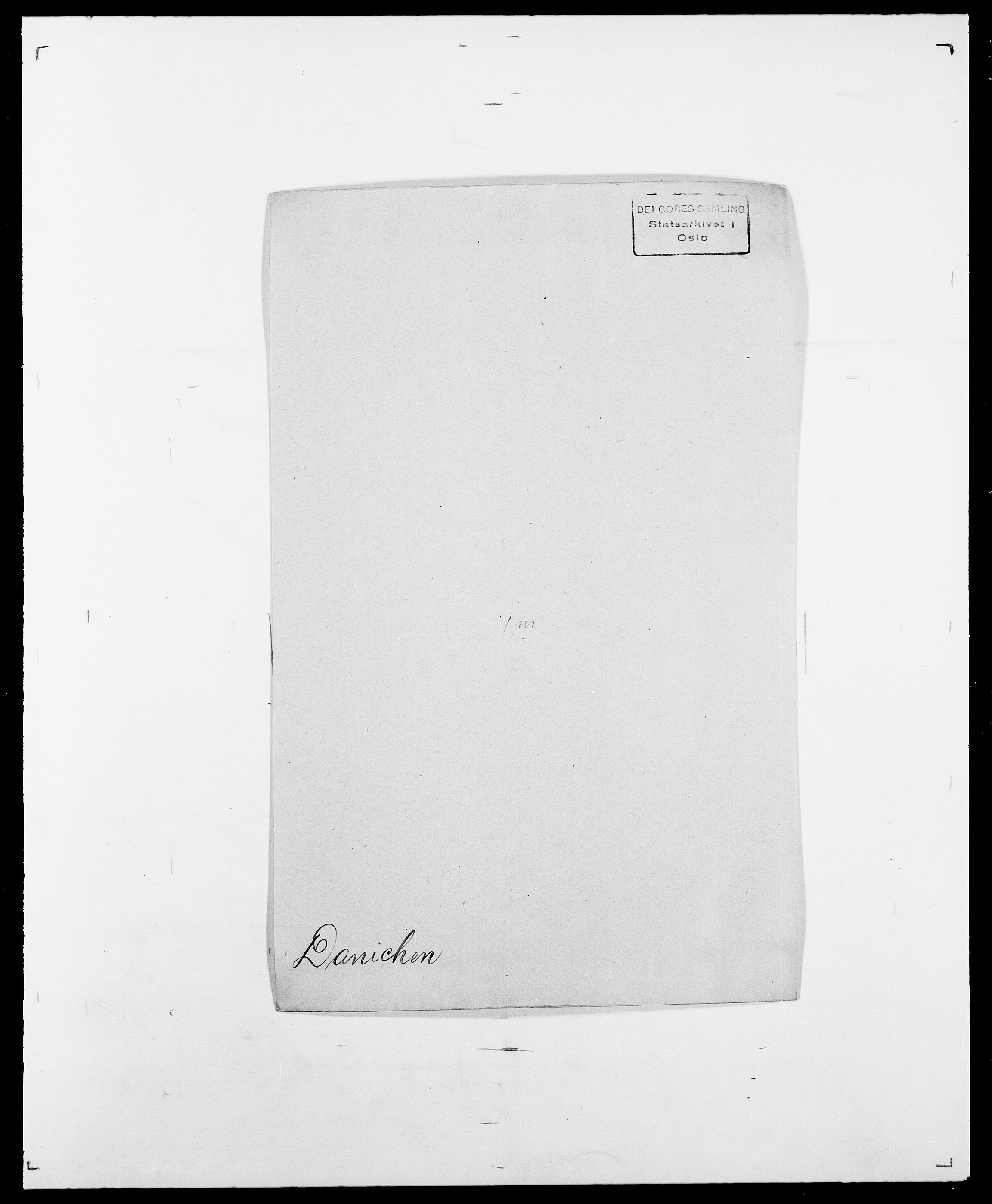 SAO, Delgobe, Charles Antoine - samling, D/Da/L0009: Dahl - v. Düren, s. 303