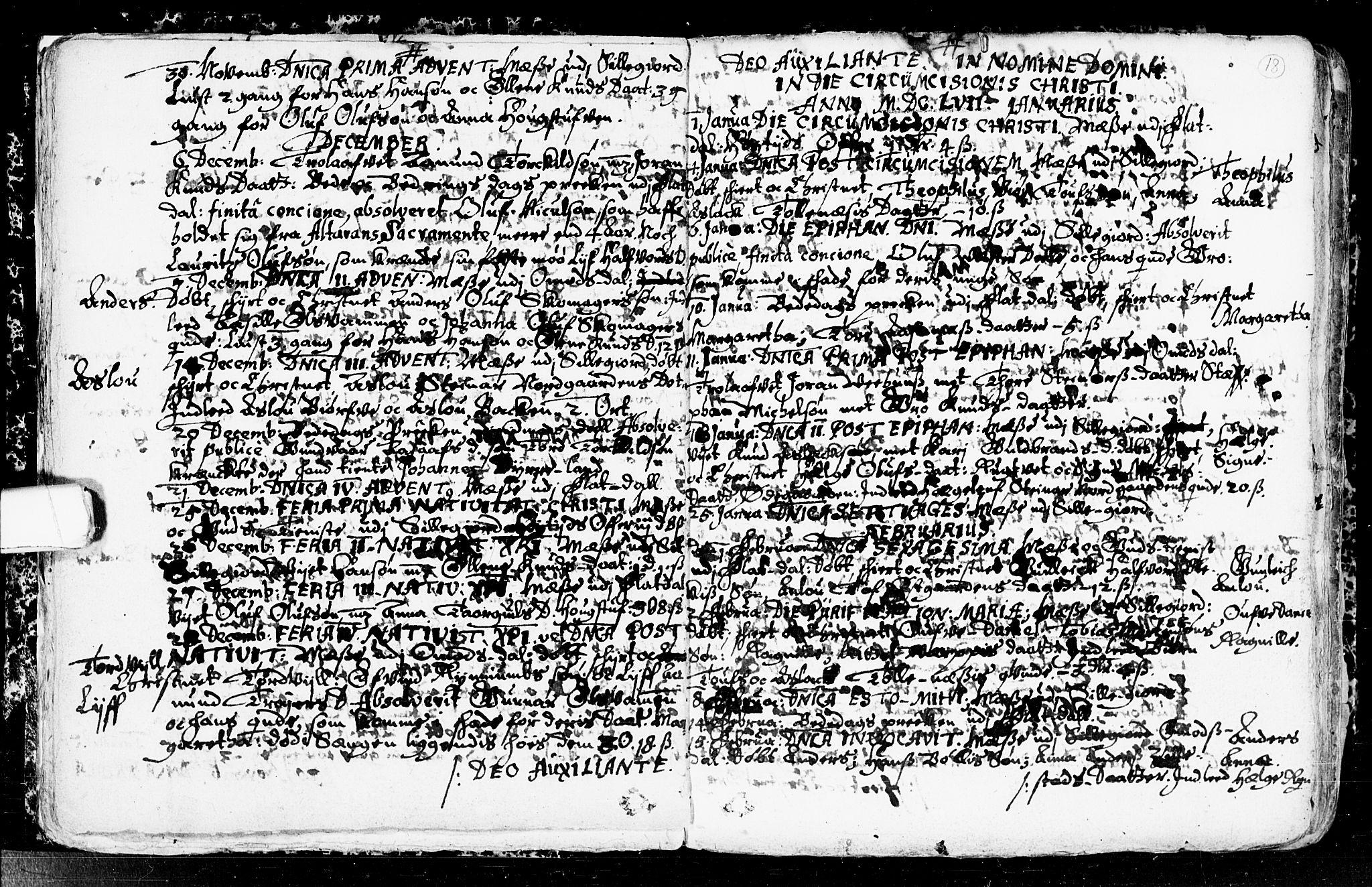 SAKO, Seljord kirkebøker, F/Fa/L0001: Ministerialbok nr. I 1, 1654-1686, s. 18