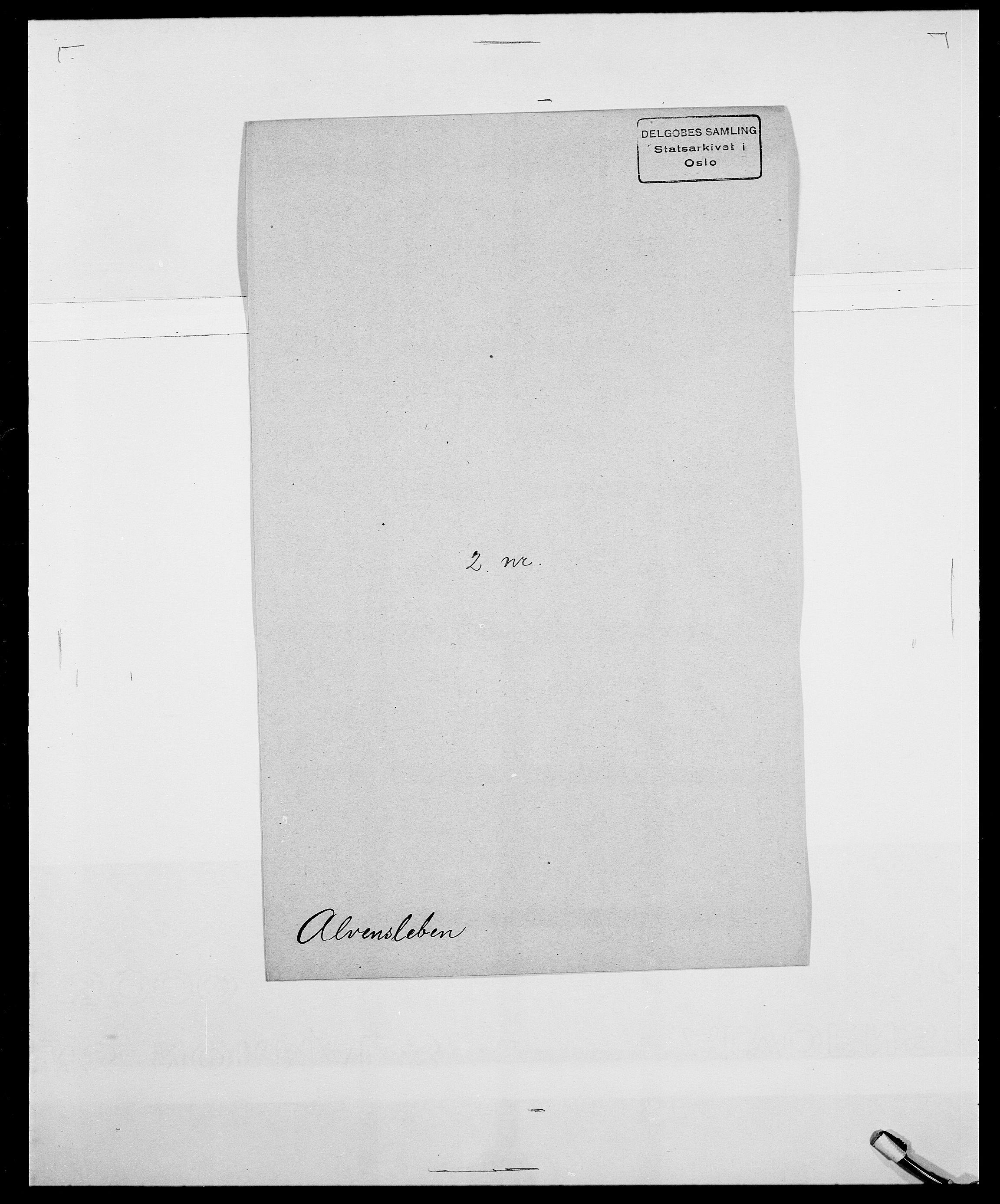 SAO, Delgobe, Charles Antoine - samling, D/Da/L0001: Aabye - Angerman, s. 503