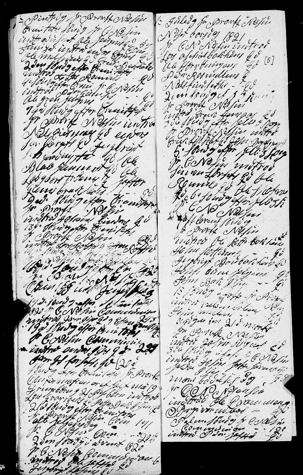 SAT, Ministerialprotokoller, klokkerbøker og fødselsregistre - Sør-Trøndelag, 691/L1091: Klokkerbok nr. 691C02, 1802-1815, s. 5