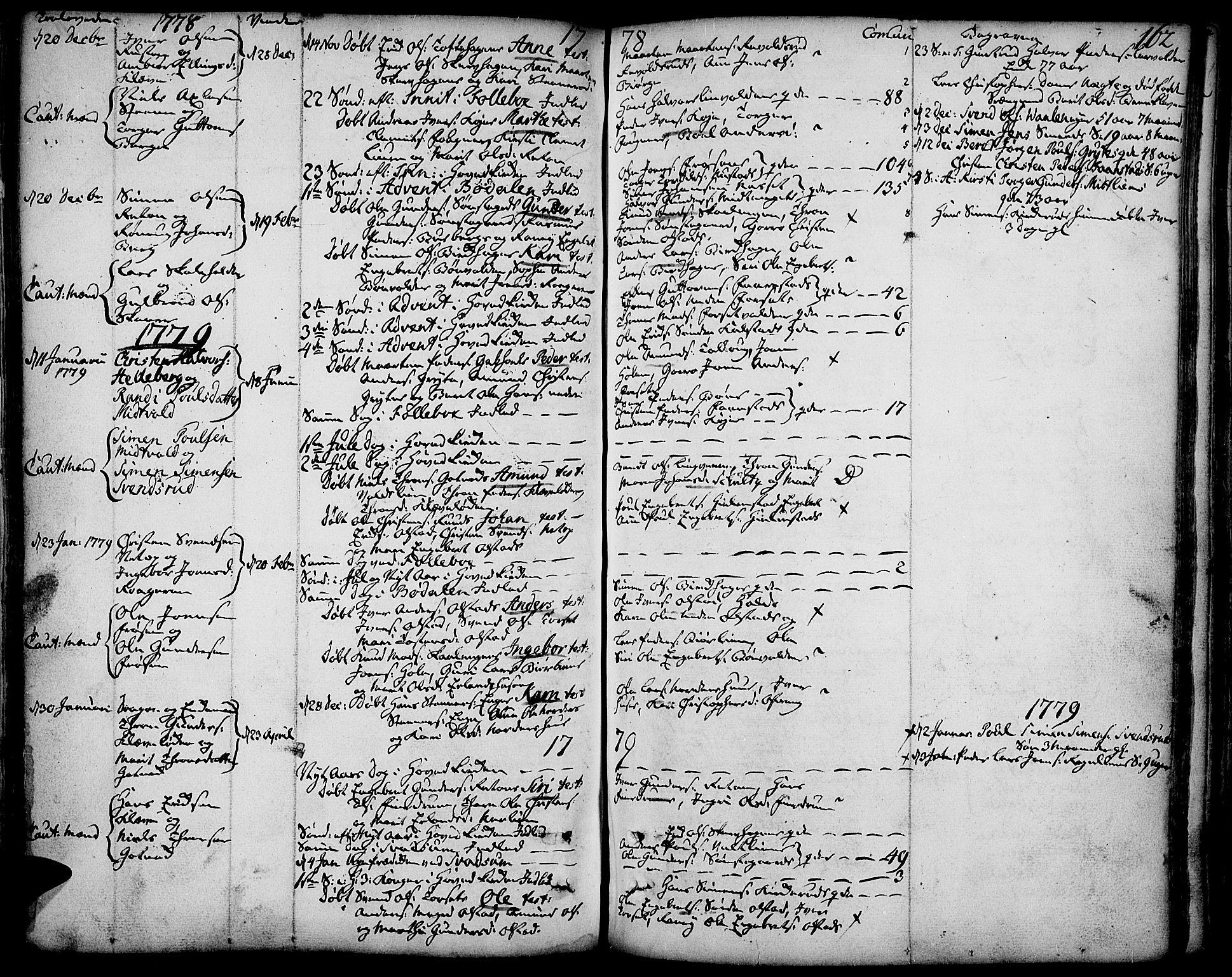 SAH, Gausdal prestekontor, Ministerialbok nr. 3, 1758-1809, s. 162