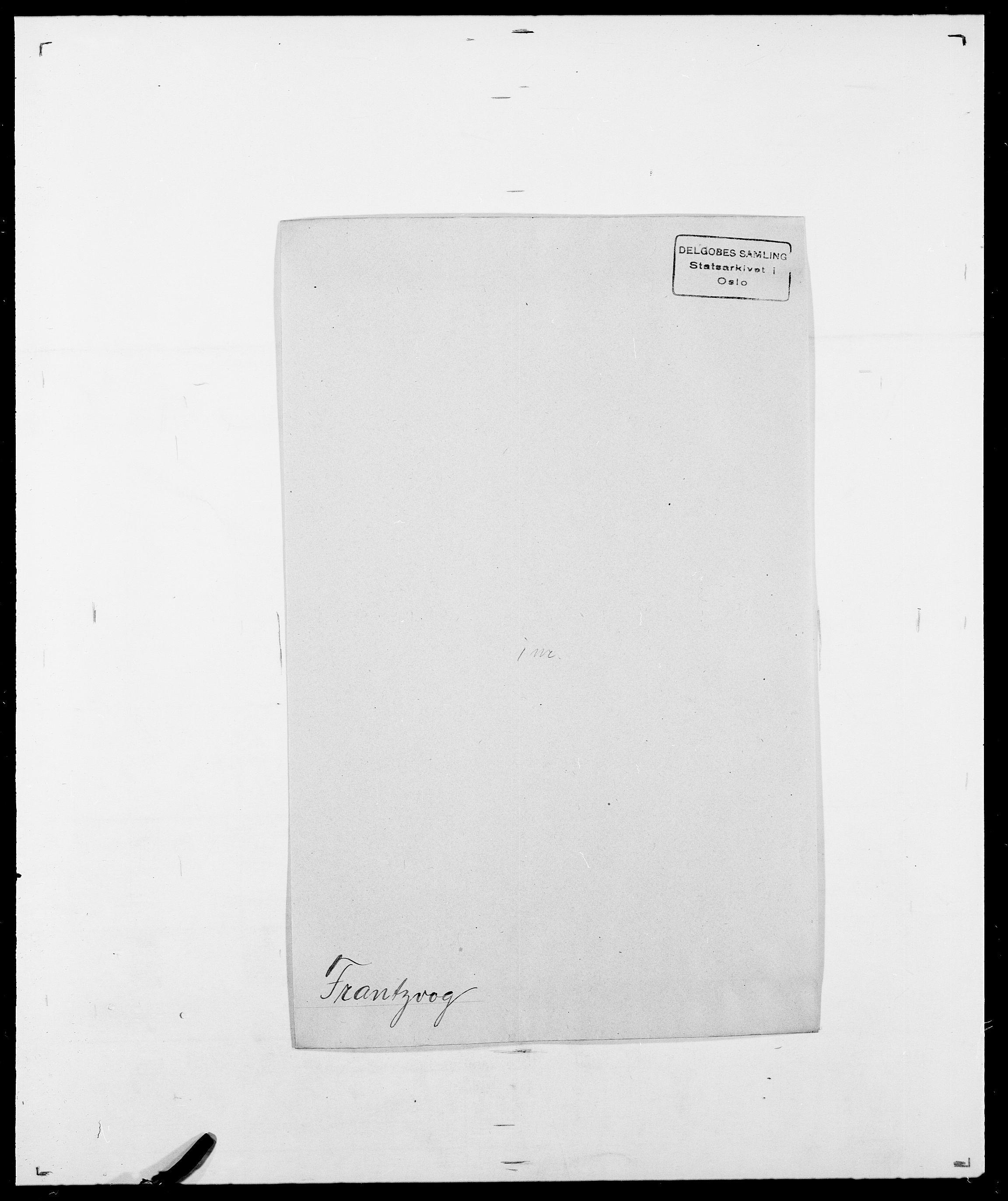 SAO, Delgobe, Charles Antoine - samling, D/Da/L0012: Flor, Floer, Flohr - Fritzner, s. 720