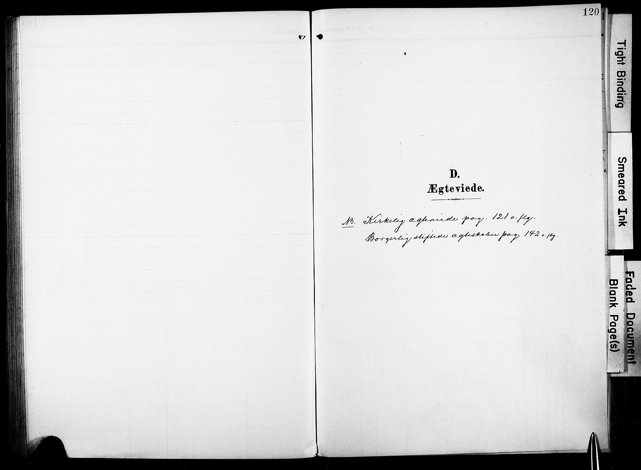 SAKO, Fiskum kirkebøker, F/Fa/L0004: Ministerialbok nr. 4, 1906-1924, s. 120