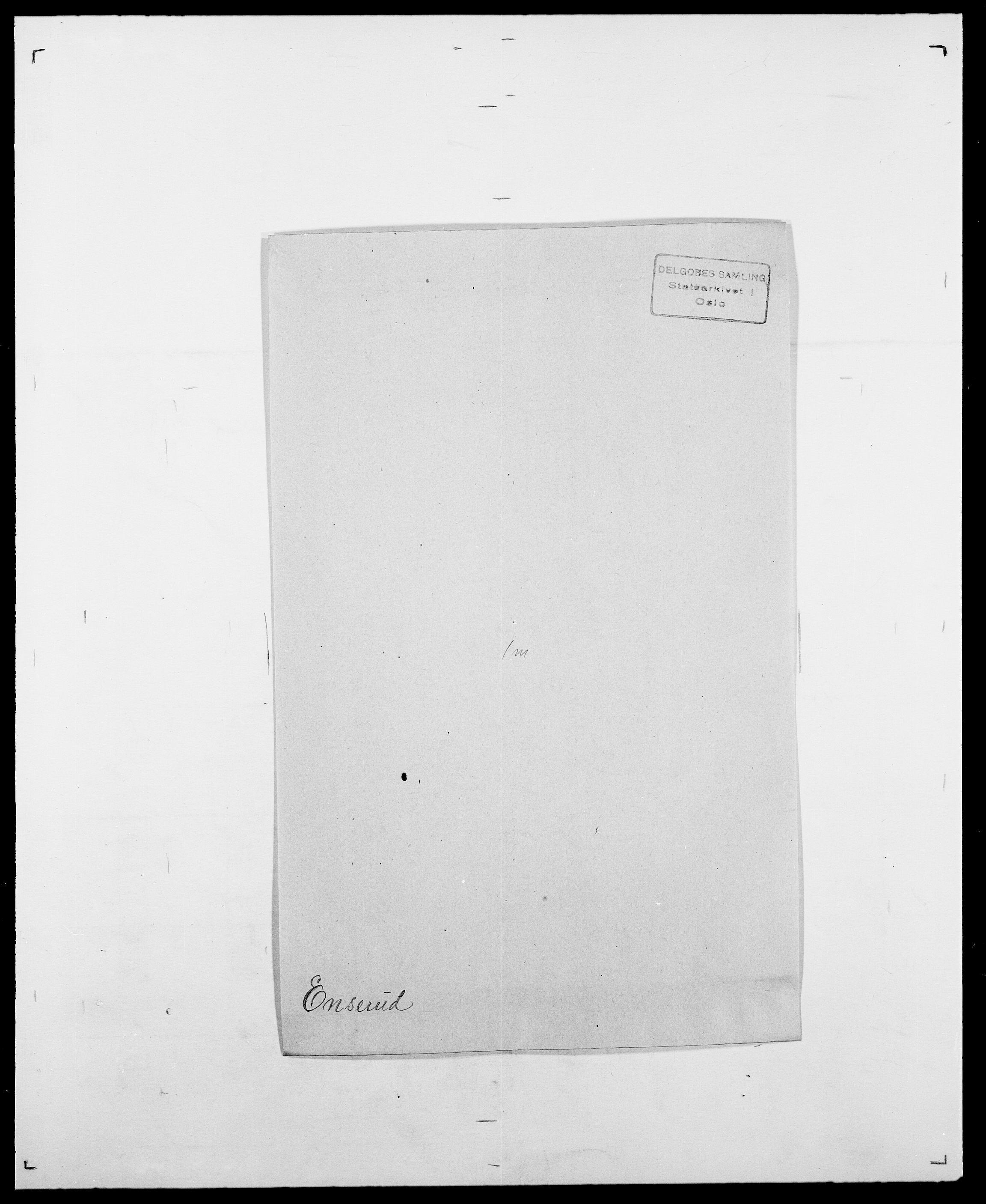SAO, Delgobe, Charles Antoine - samling, D/Da/L0010: Dürendahl - Fagelund, s. 551