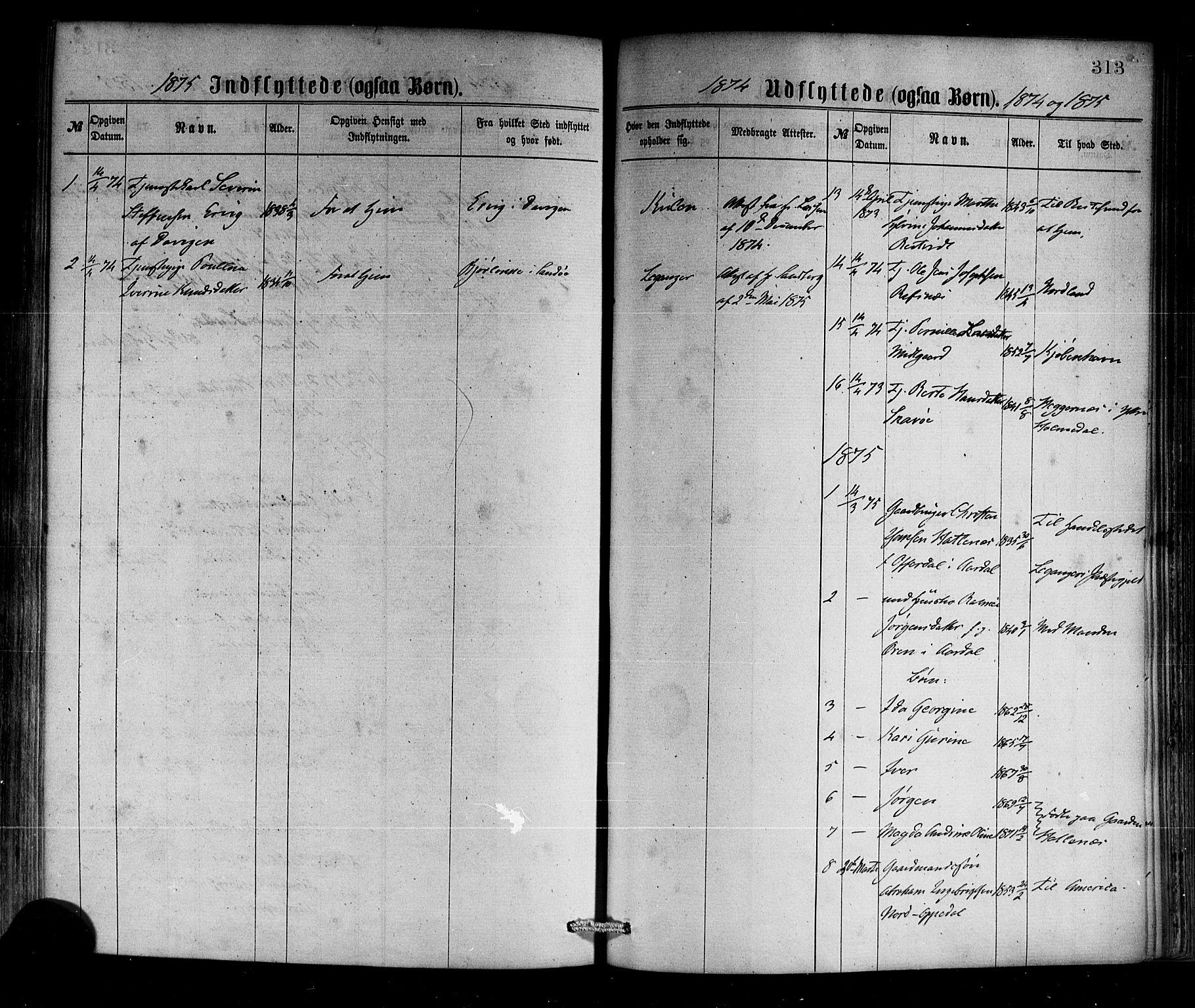 SAB, Selje sokneprestembete*, Ministerialbok nr. A 12, 1870-1880, s. 313