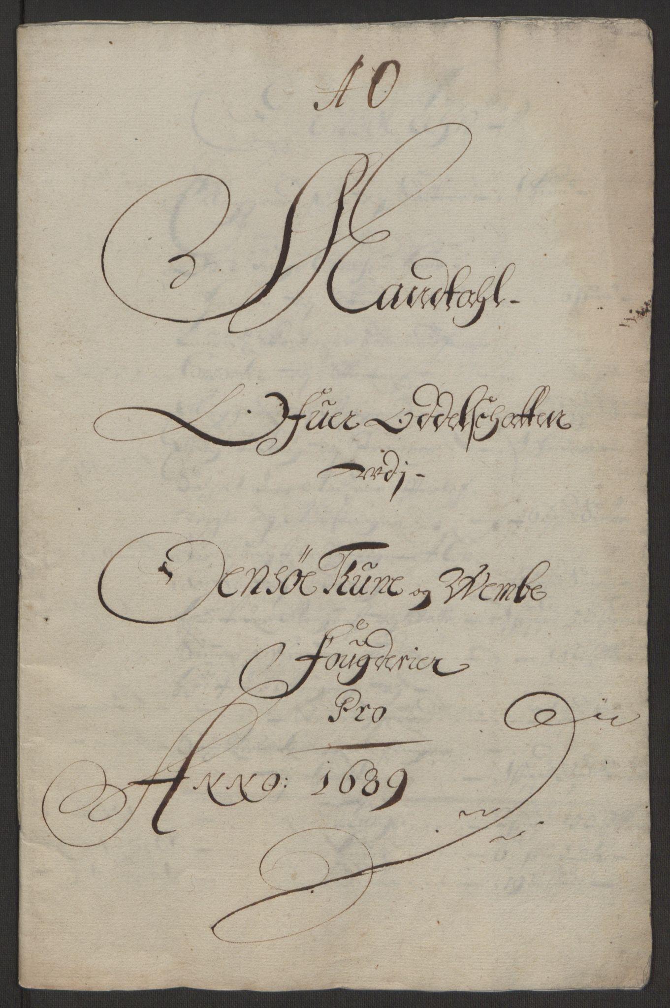 RA, Rentekammeret inntil 1814, Reviderte regnskaper, Fogderegnskap, R03/L0118: Fogderegnskap Onsøy, Tune, Veme og Åbygge fogderi, 1684-1689, s. 13