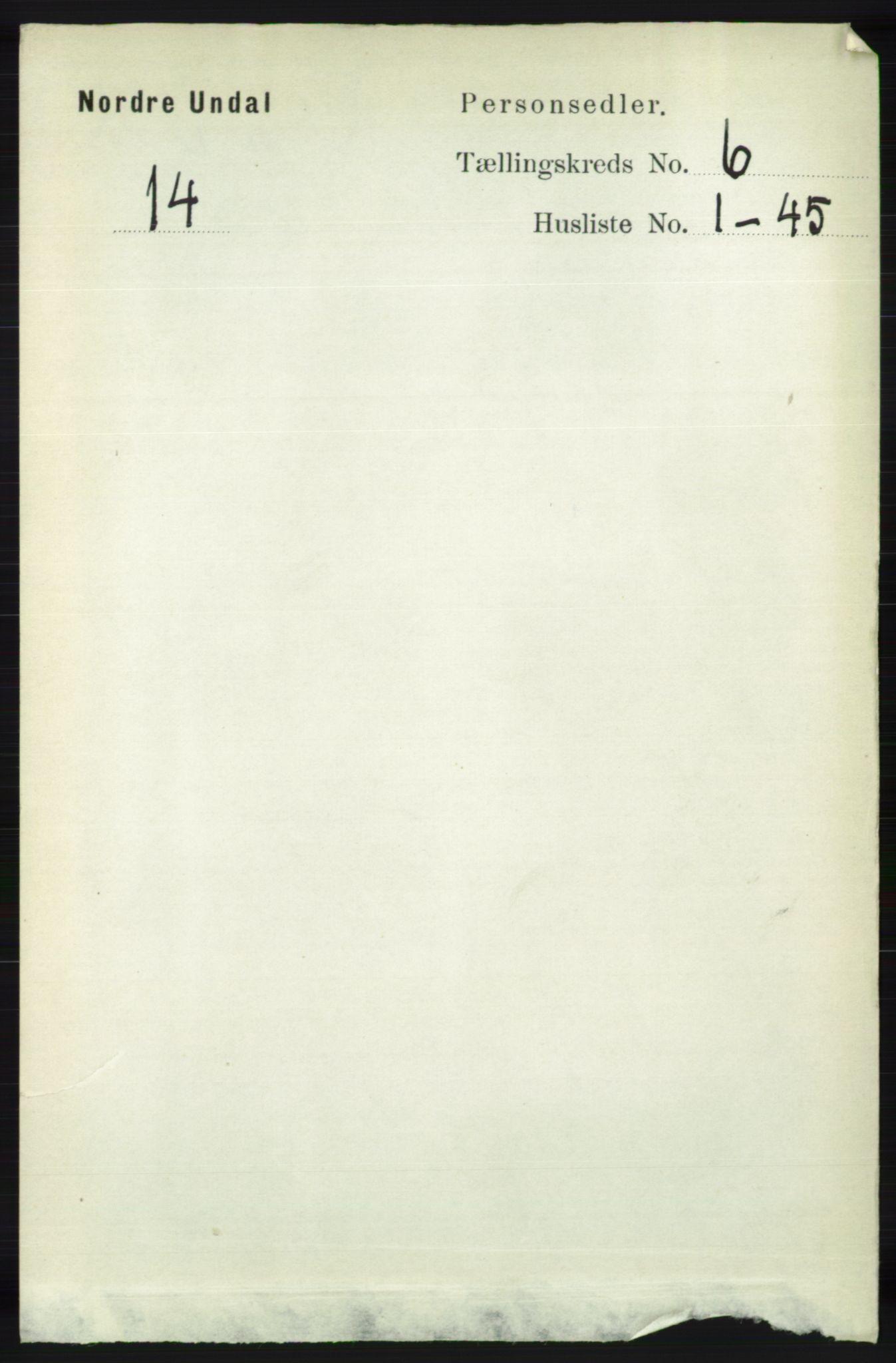 RA, Folketelling 1891 for 1028 Nord-Audnedal herred, 1891, s. 1504