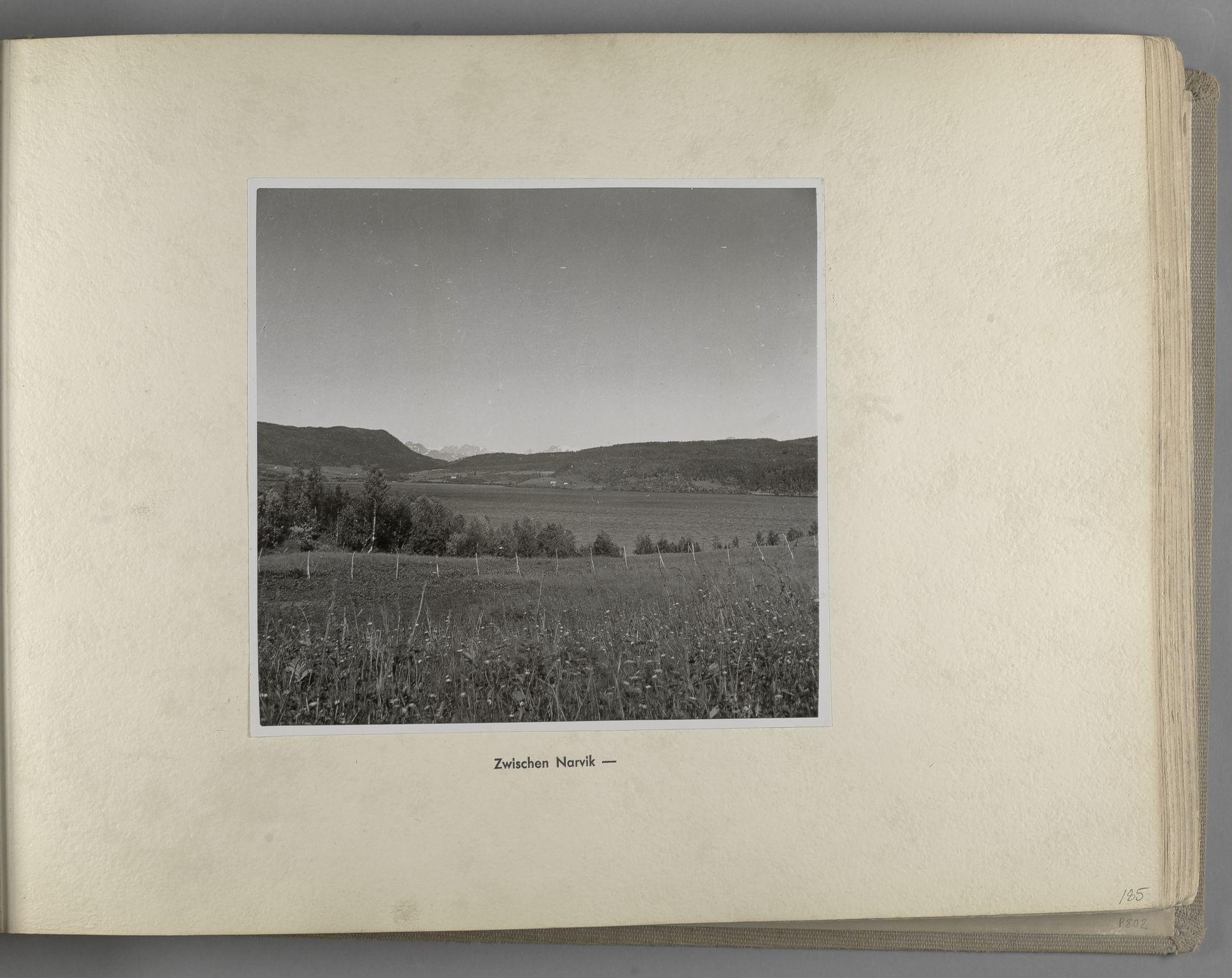 RA, Tyske arkiver, Reichskommissariat, Bildarchiv, U/L0071: Fotoalbum: Mit dem Reichskommissar nach Nordnorwegen und Finnland 10. bis 27. Juli 1942, 1942, s. 75
