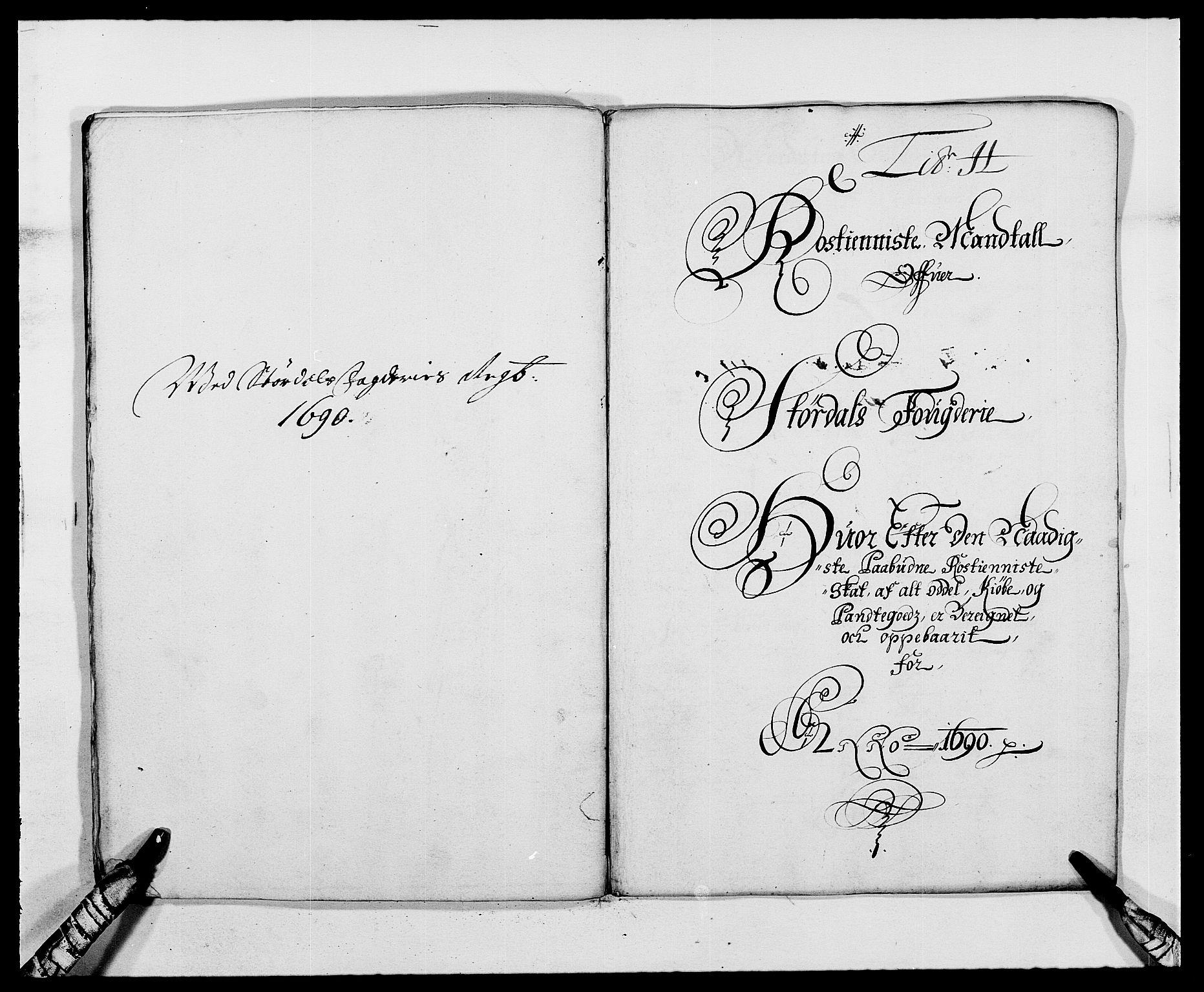 RA, Rentekammeret inntil 1814, Reviderte regnskaper, Fogderegnskap, R62/L4184: Fogderegnskap Stjørdal og Verdal, 1690-1691, s. 130