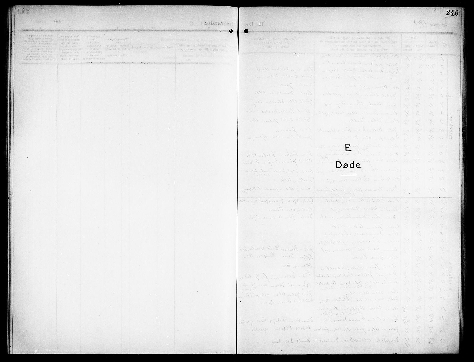 SAT, Ministerialprotokoller, klokkerbøker og fødselsregistre - Nordland, 843/L0639: Klokkerbok nr. 843C08, 1908-1924, s. 240
