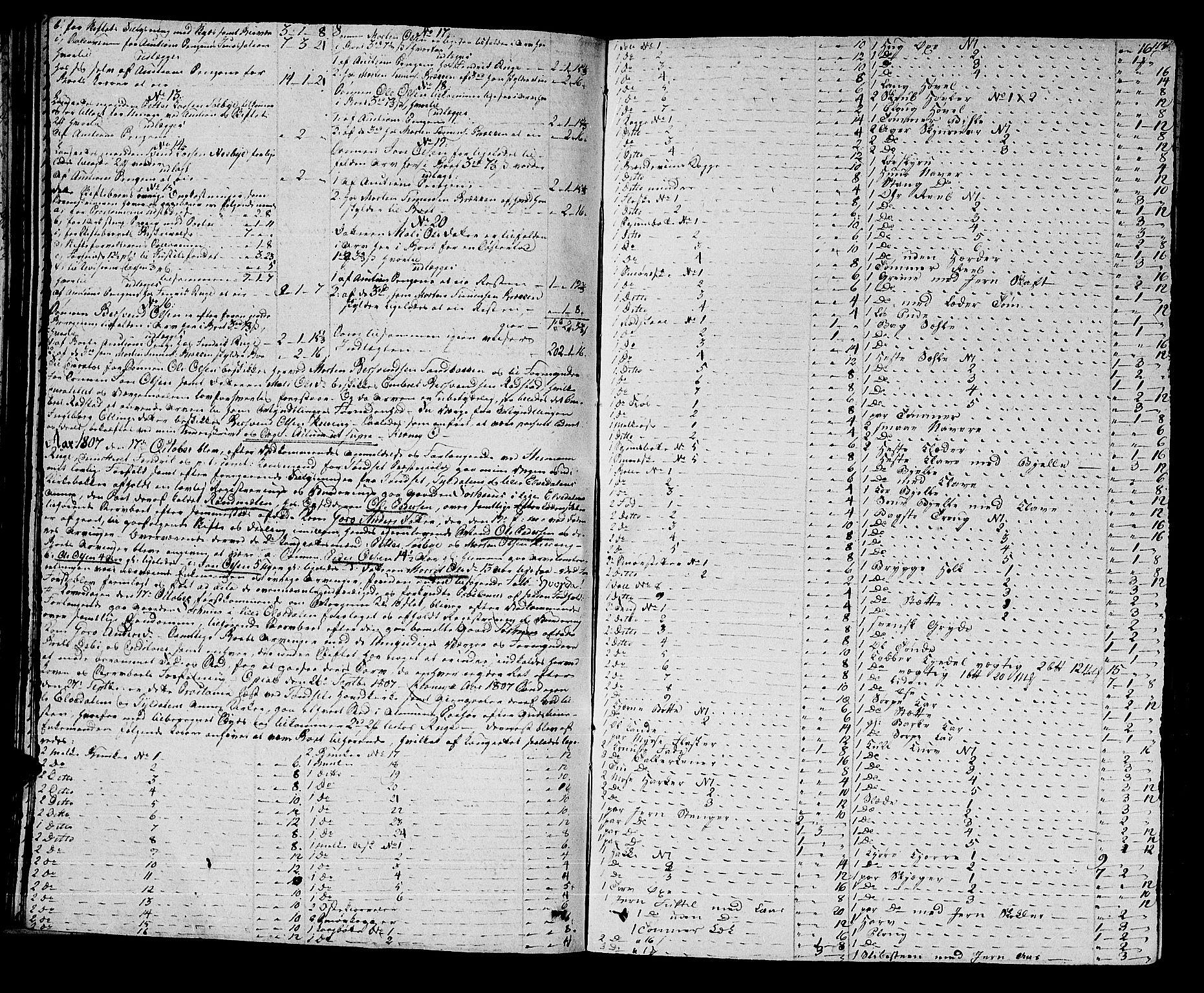 SAH, Østerdalen sorenskriveri, J/Ja/L0010: Skifteprotokoll, 1806-1810, s. 114b-115a