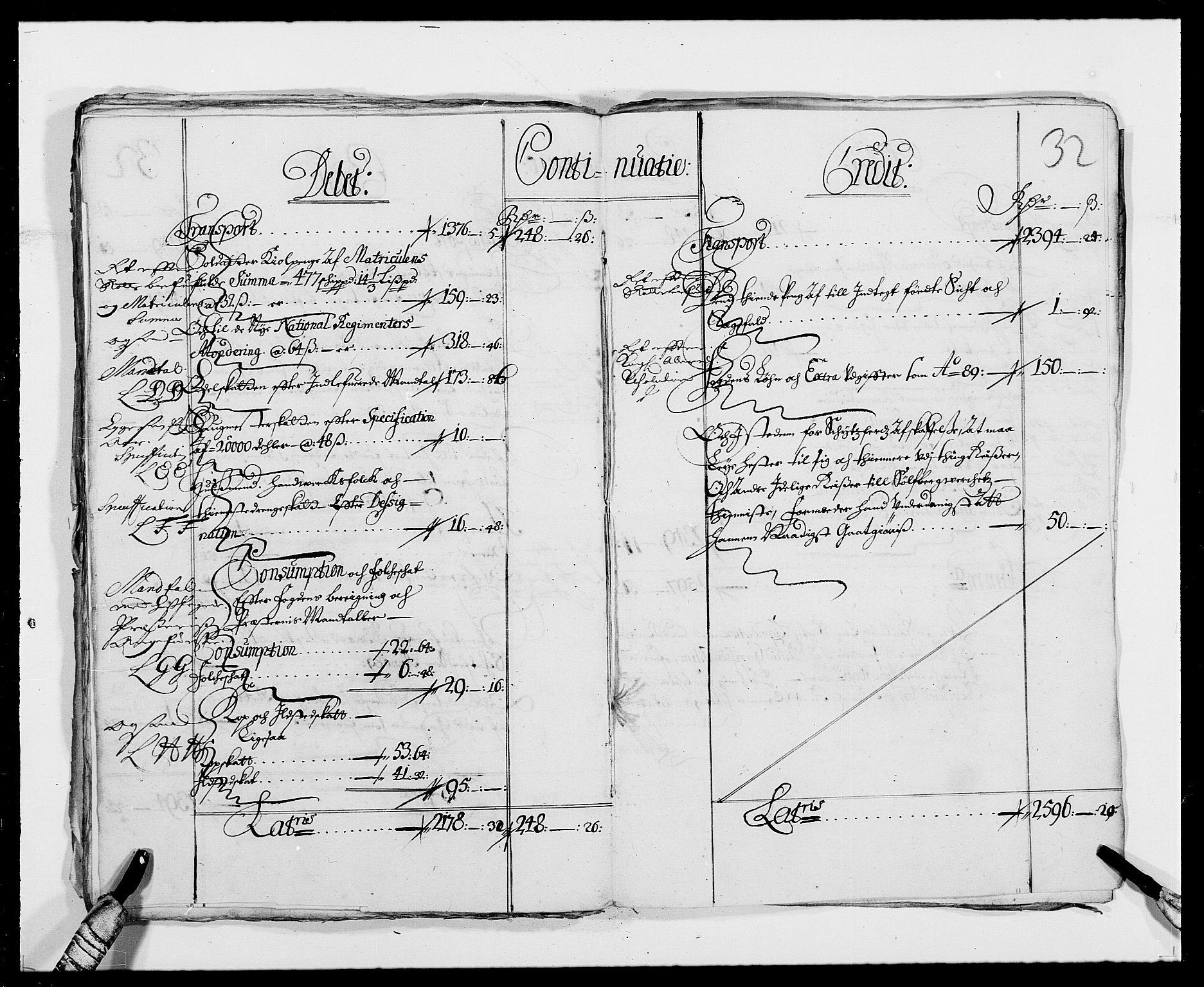 RA, Rentekammeret inntil 1814, Reviderte regnskaper, Fogderegnskap, R24/L1573: Fogderegnskap Numedal og Sandsvær, 1687-1691, s. 254