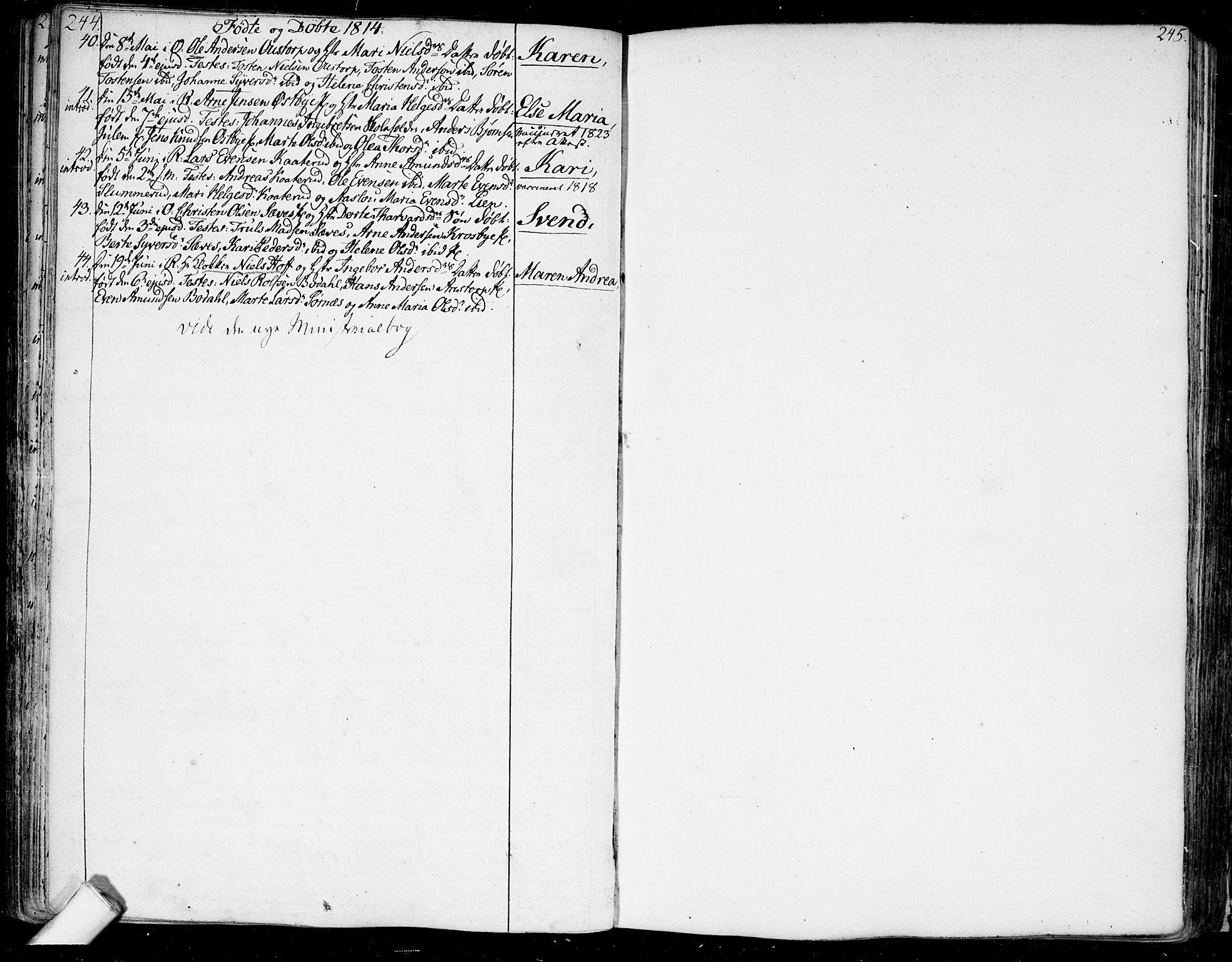 SAO, Rakkestad prestekontor Kirkebøker, F/Fa/L0005: Ministerialbok nr. I 5, 1784-1814, s. 244-245