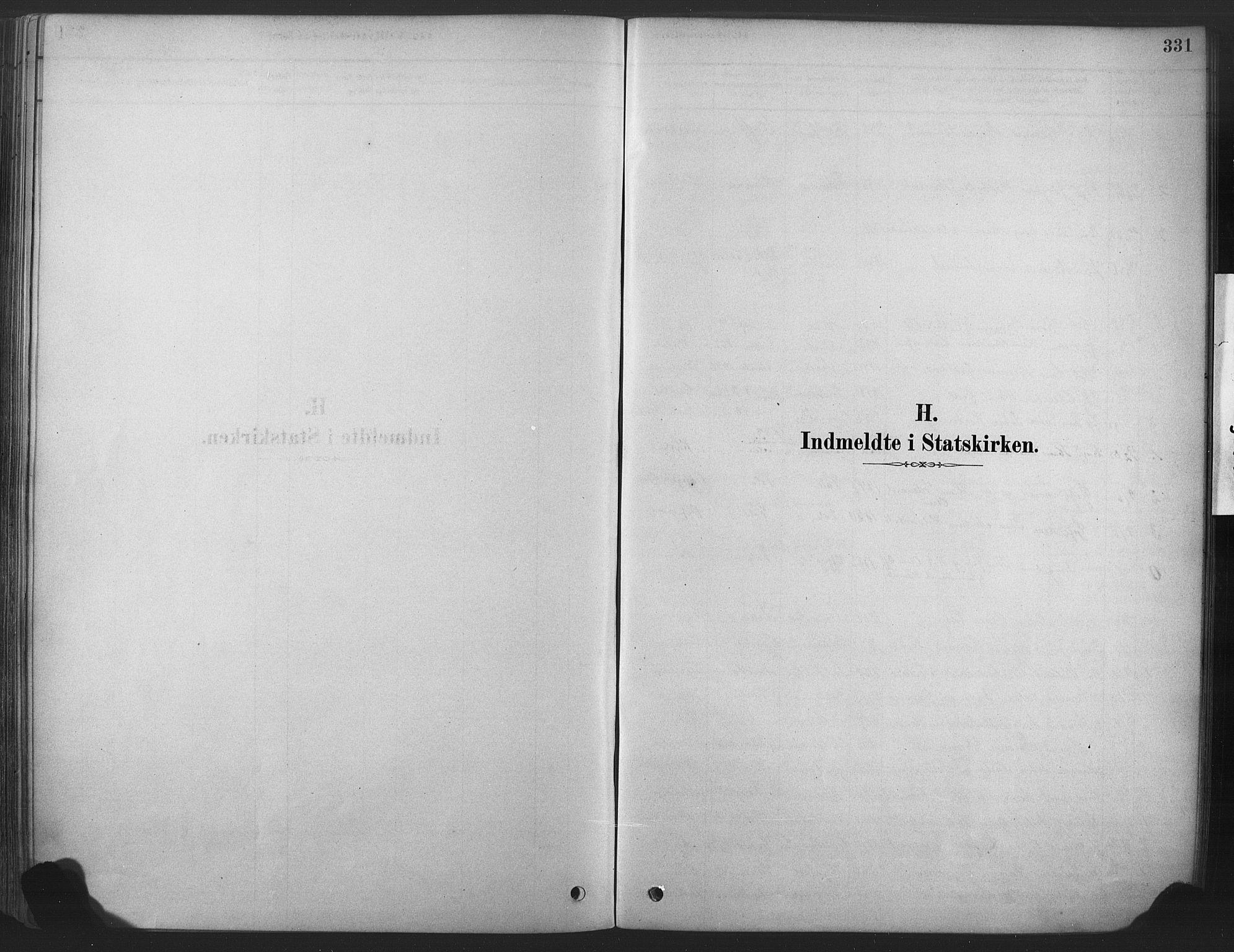 SAKO, Våle kirkebøker, F/Fa/L0011: Ministerialbok nr. I 11, 1878-1906, s. 331
