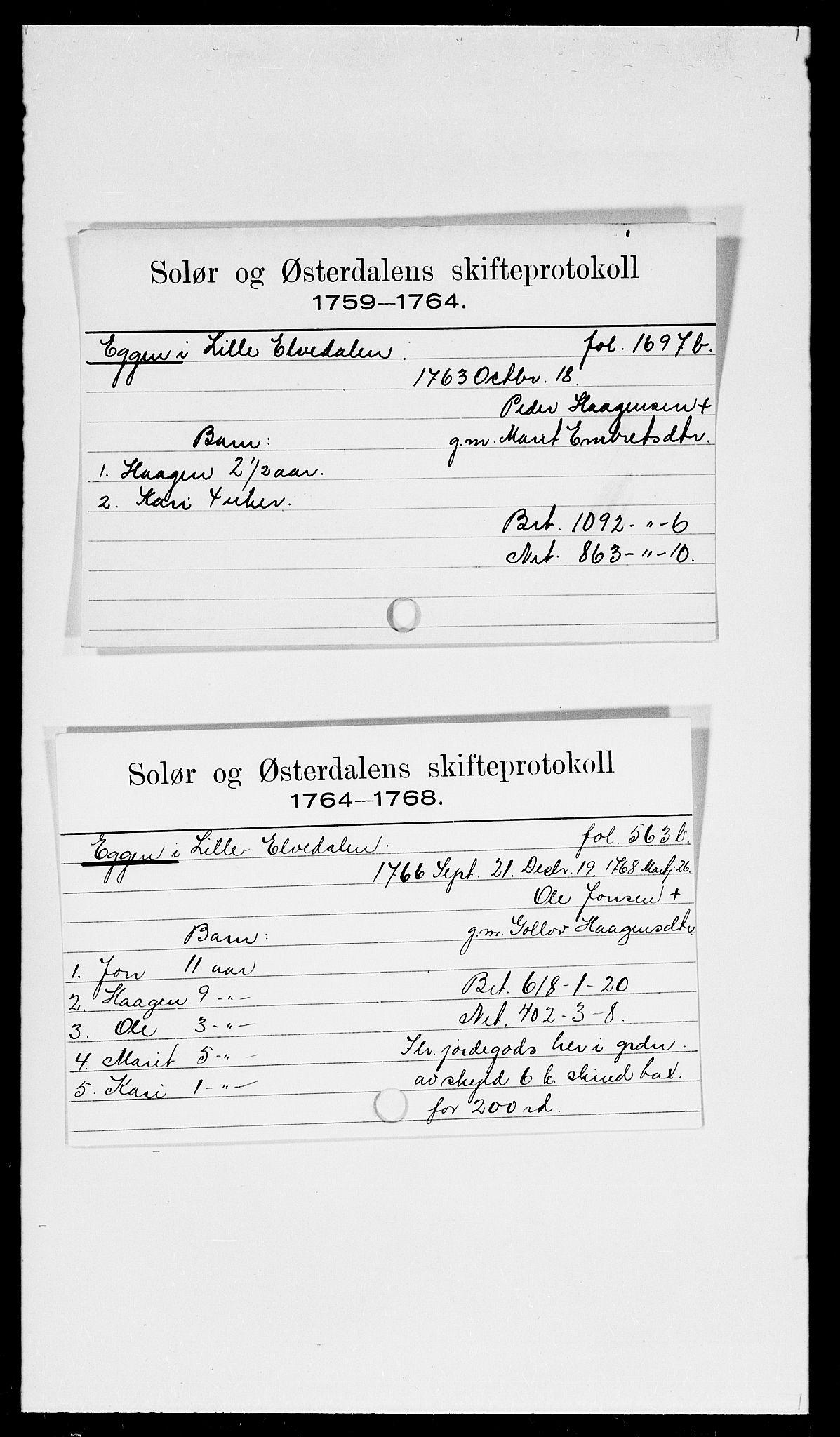 SAH, Solør og Østerdalen sorenskriveri, J, 1716-1774, s. 7967