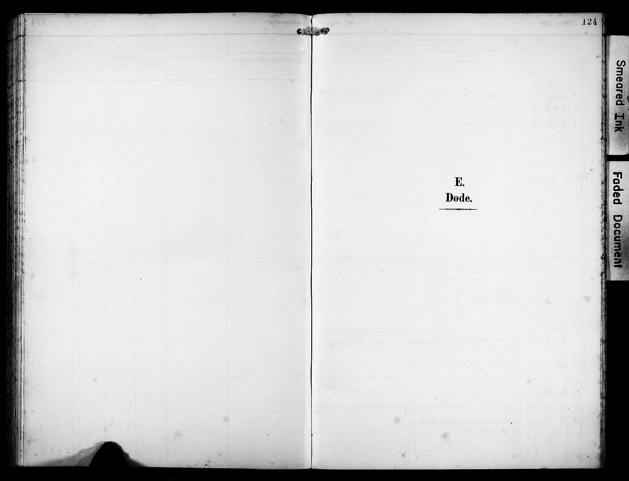 SAST, Avaldsnes sokneprestkontor, H/Ha/Hab/L0011: Klokkerbok nr. B 11, 1893-1929, s. 124
