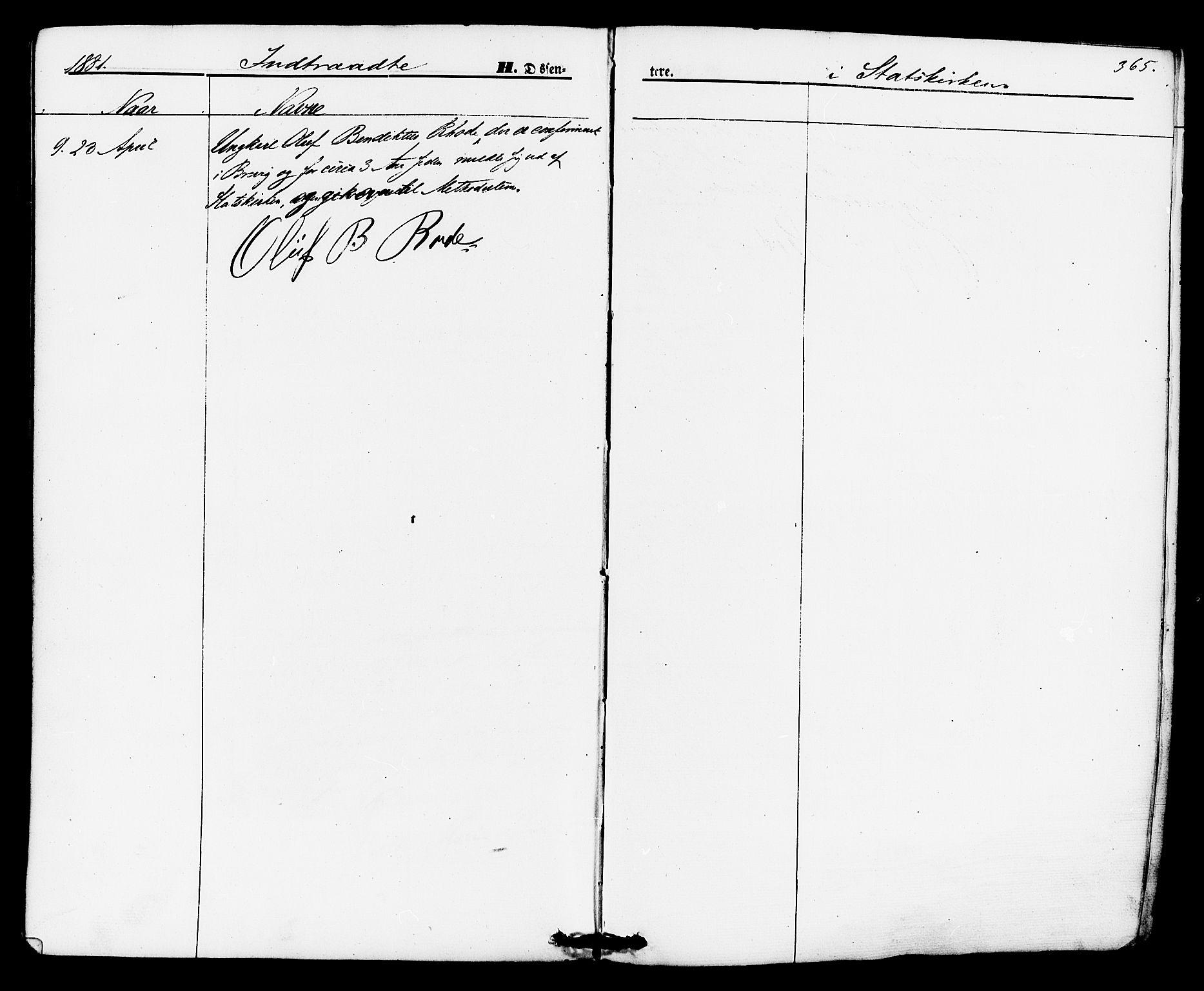 SAKO, Brevik kirkebøker, F/Fa/L0006: Ministerialbok nr. 6, 1866-1881, s. 365