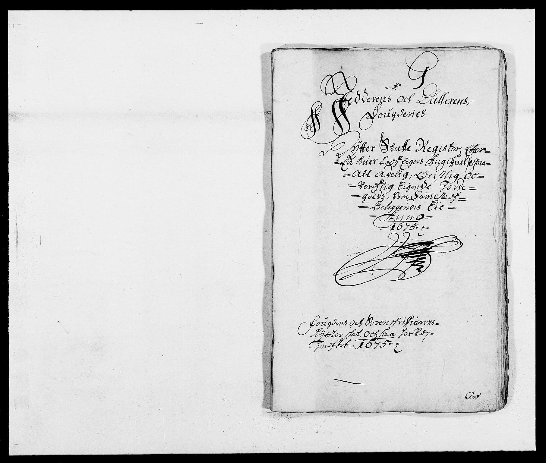 RA, Rentekammeret inntil 1814, Reviderte regnskaper, Fogderegnskap, R46/L2715: Fogderegnskap Jæren og Dalane, 1675, s. 201