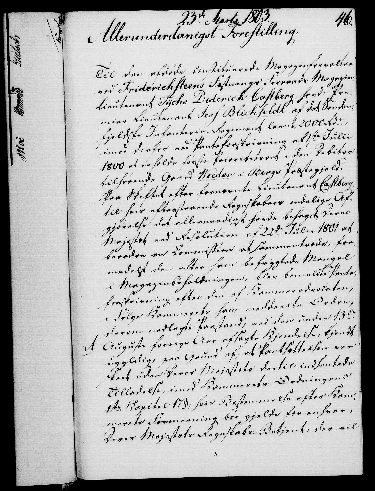 RA, Rentekammeret, Kammerkanselliet, G/Gf/Gfa/L0085: Norsk relasjons- og resolusjonsprotokoll (merket RK 52.85), 1803, s. 317