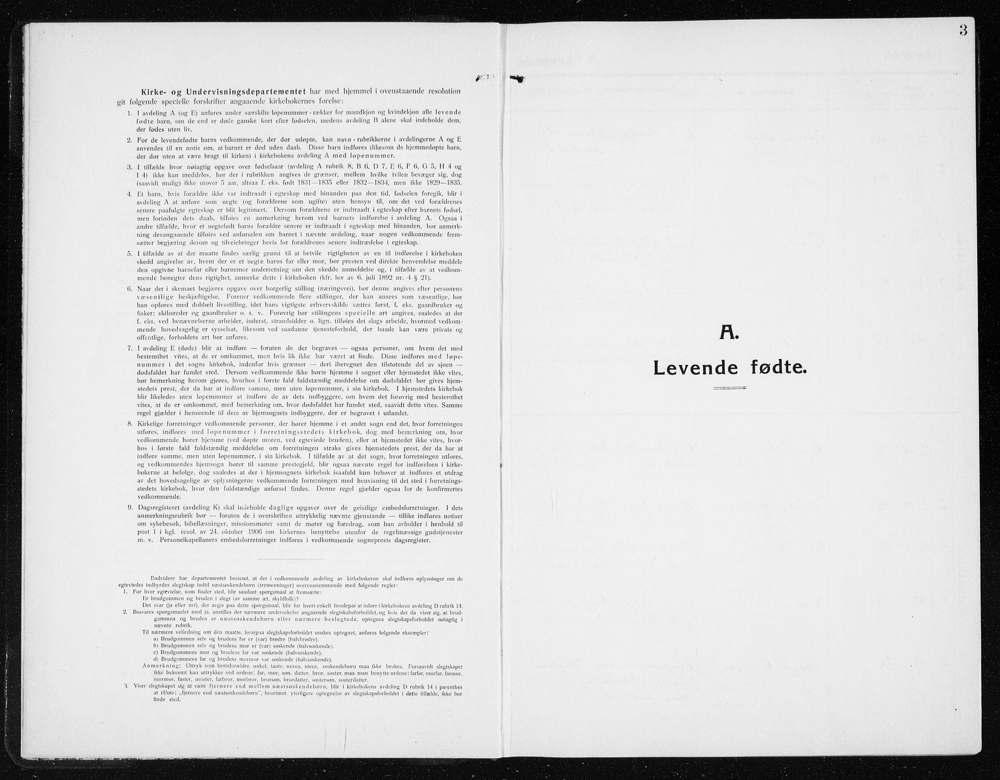 SAT, Ministerialprotokoller, klokkerbøker og fødselsregistre - Nord-Trøndelag, 741/L0402: Klokkerbok nr. 741C03, 1911-1926, s. 3