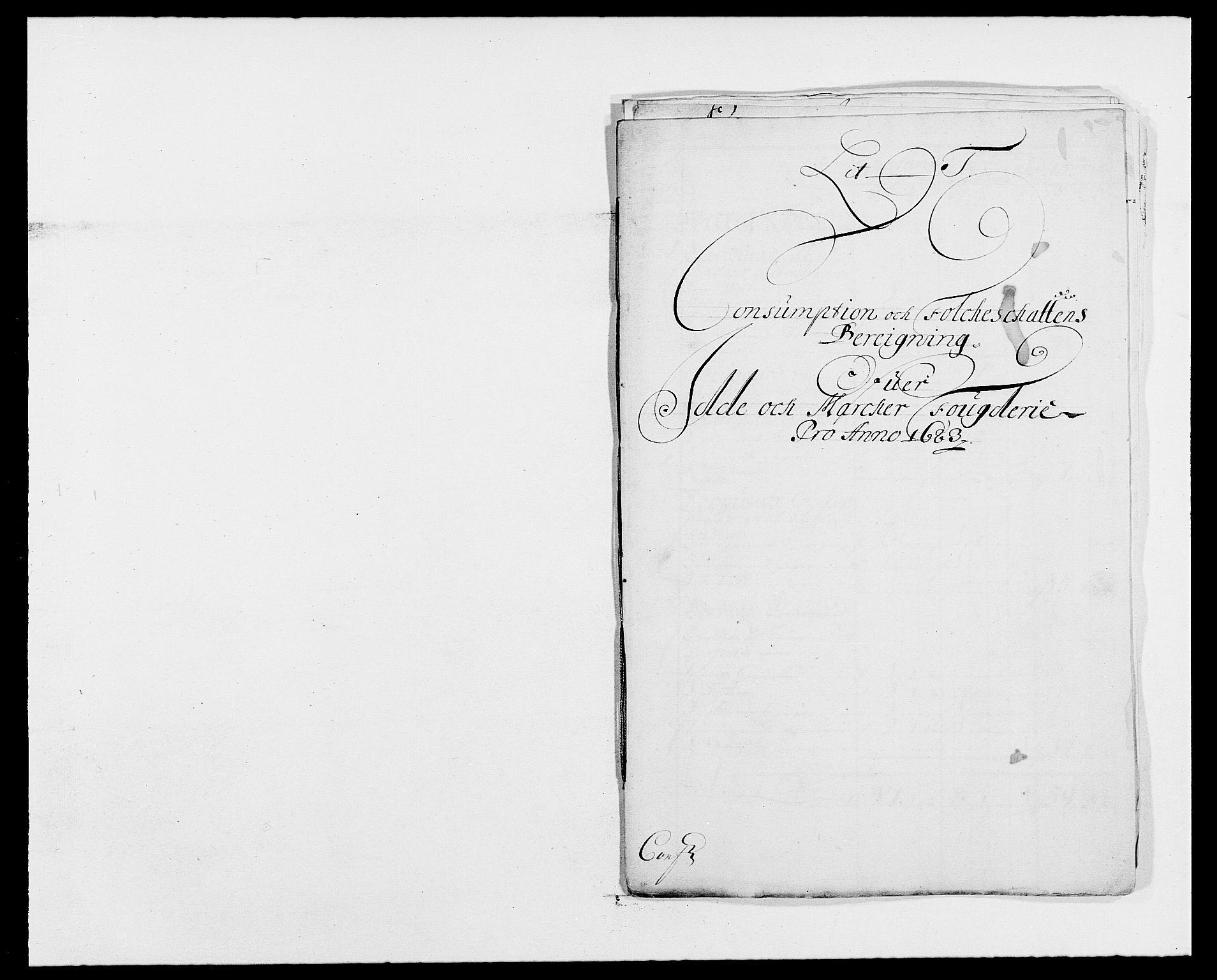 RA, Rentekammeret inntil 1814, Reviderte regnskaper, Fogderegnskap, R01/L0004: Fogderegnskap Idd og Marker , 1682-1683, s. 304