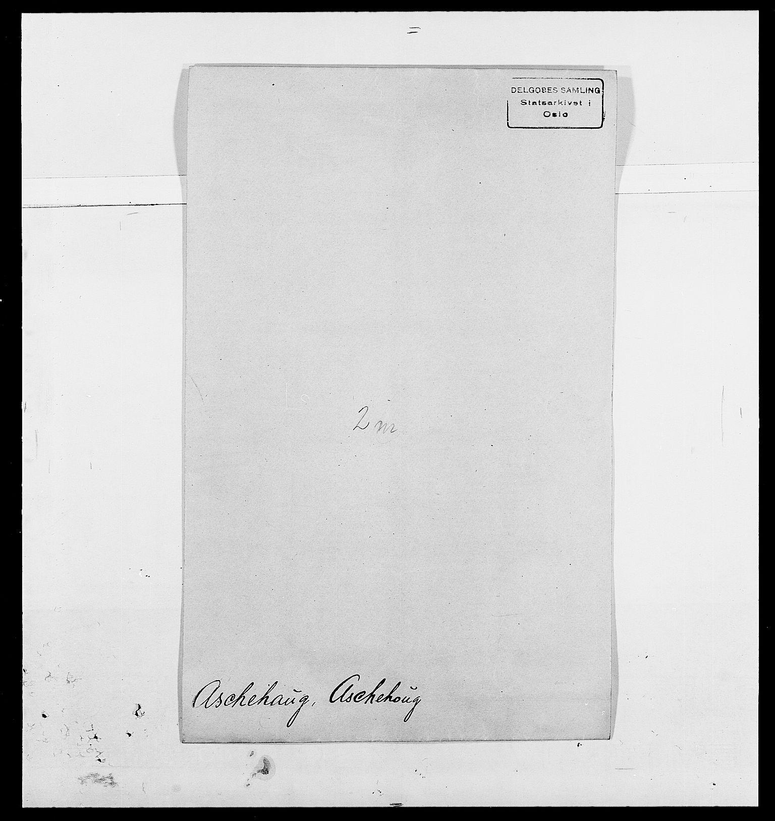 SAO, Delgobe, Charles Antoine - samling, D/Da/L0002: Anker, Ancher - Bauner, s. 420