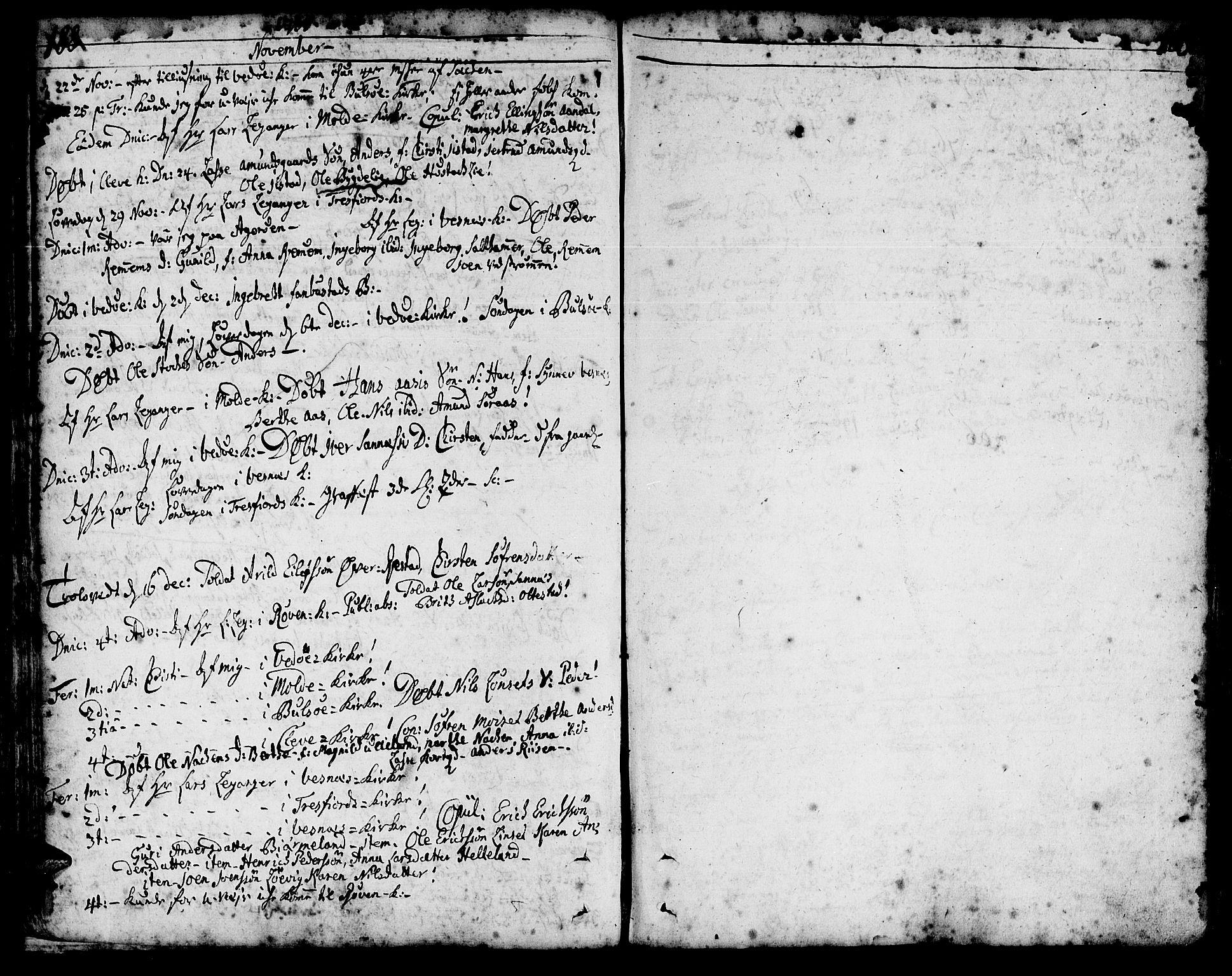 SAT, Ministerialprotokoller, klokkerbøker og fødselsregistre - Møre og Romsdal, 547/L0599: Ministerialbok nr. 547A01, 1721-1764, s. 190-191