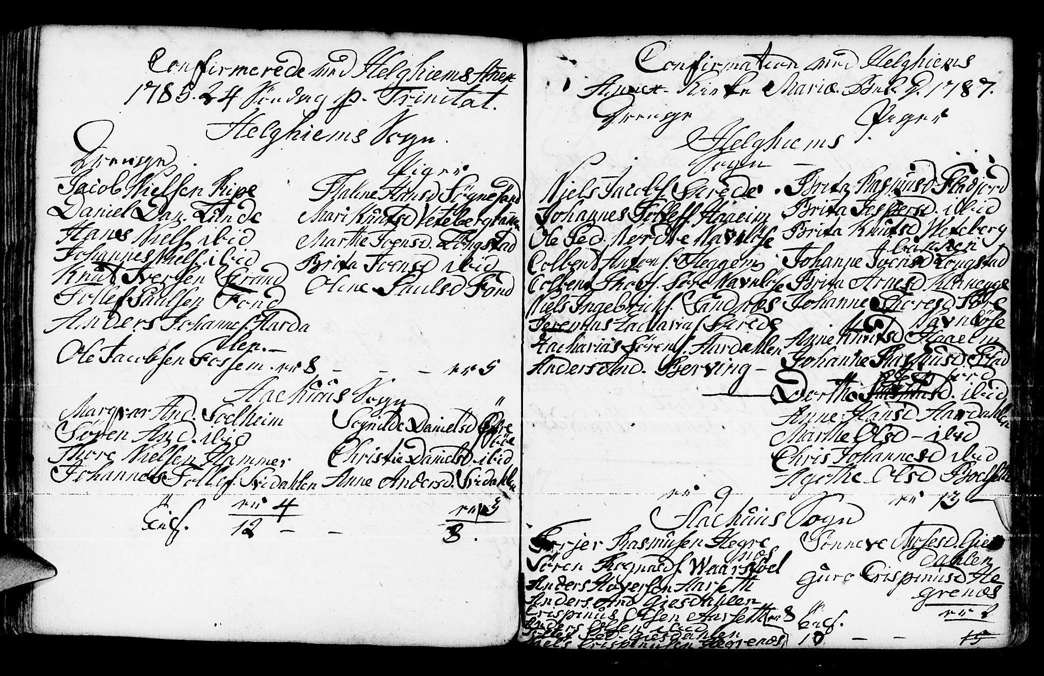 SAB, Jølster Sokneprestembete, Ministerialbok nr. A 4, 1749-1789, s. 195
